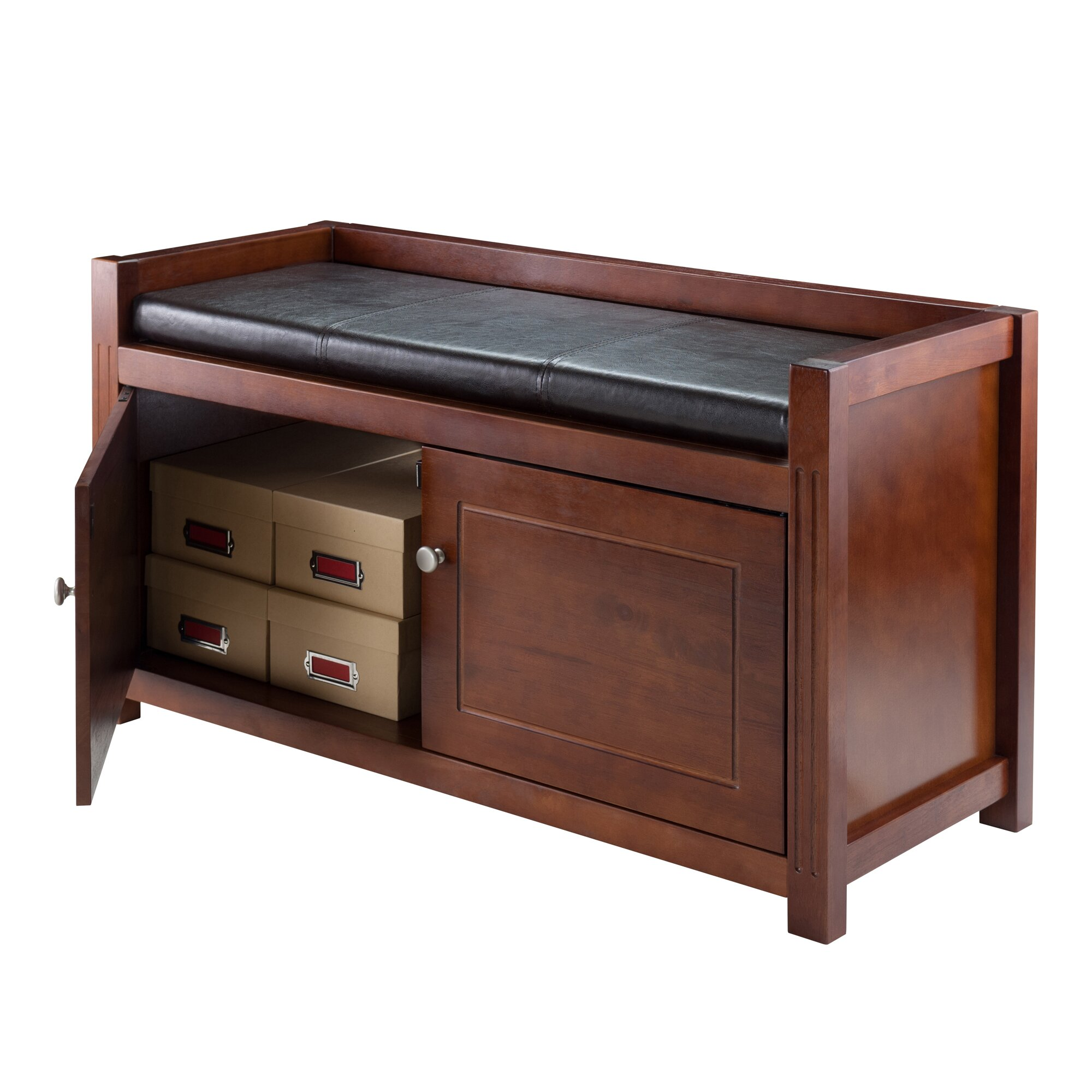 #683E31 Hall Wood Storage Bench By Alcott Hill with 2000x2000 px of Brand New Hall Benches With Storage 20002000 pic @ avoidforclosure.info
