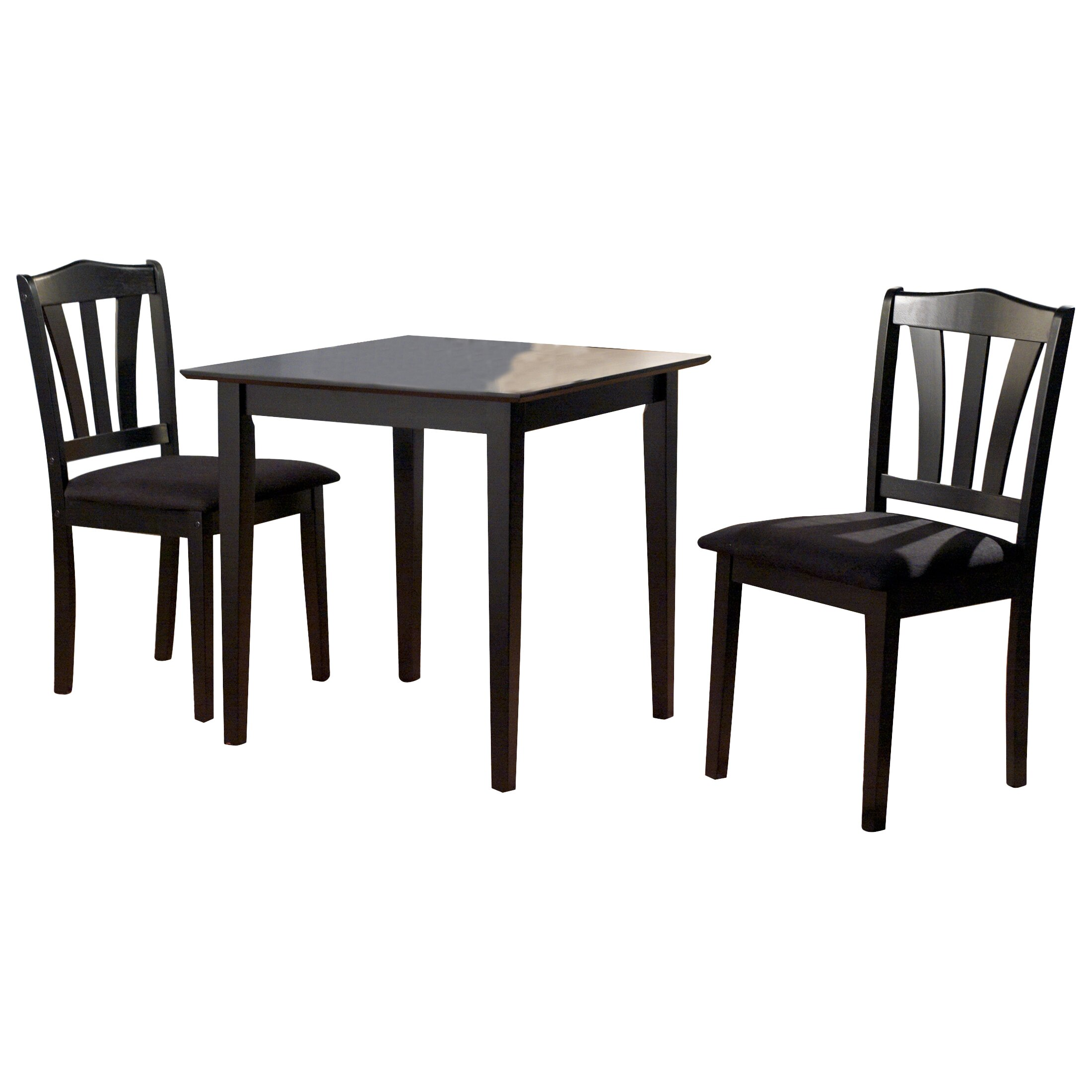 Alcott Hill Dinah 3 Piece Dining Set Amp Reviews Wayfair