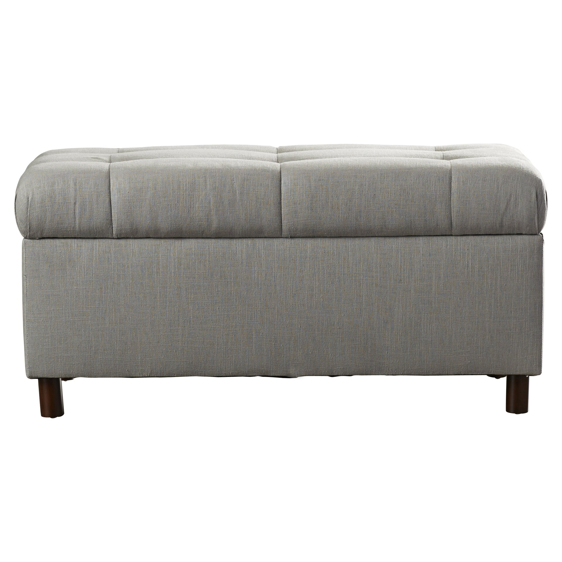 Baxton studio brighton button tufted upholstered modern bedroom bench - Fitchburg Tufted Upholstered