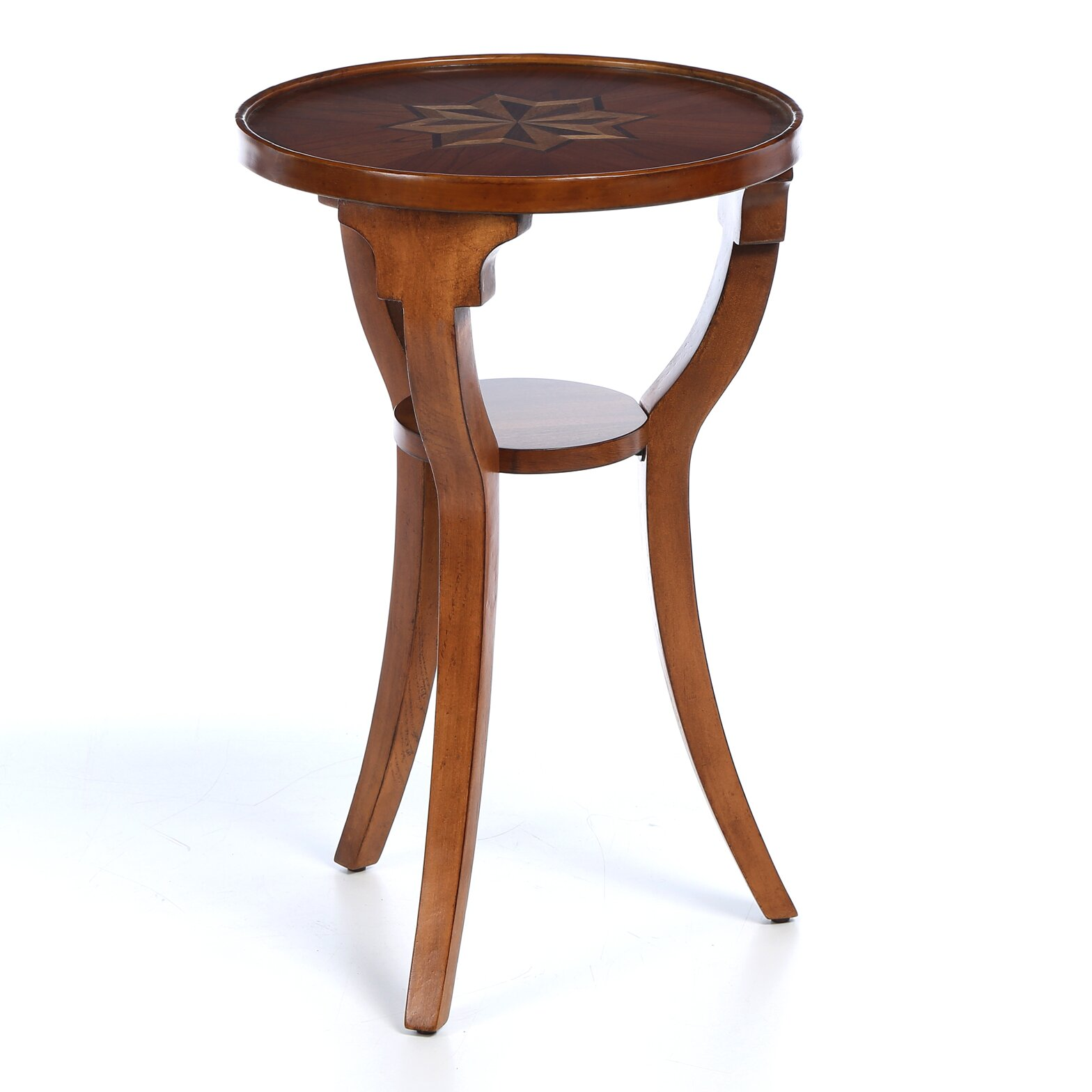 Alcott Hill Riley Round Accent Table & Reviews | Wayfair