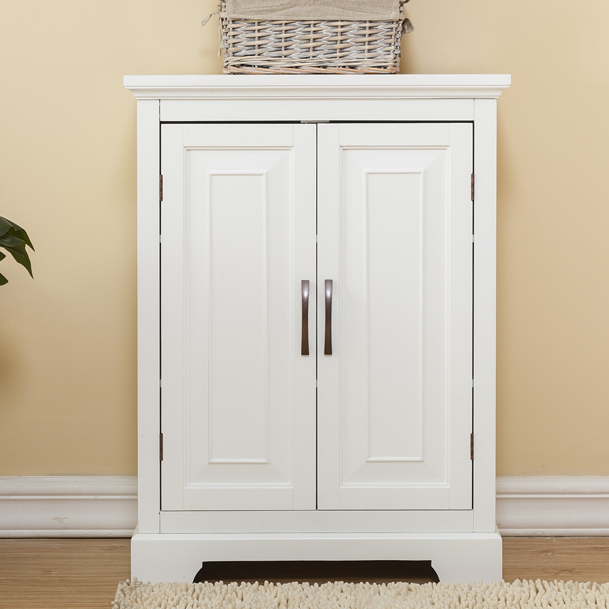"Wayfair Free Standing Kitchen Cabinets: Alcott Hill Prater 26"" X 32"" Free Standing Cabinet"