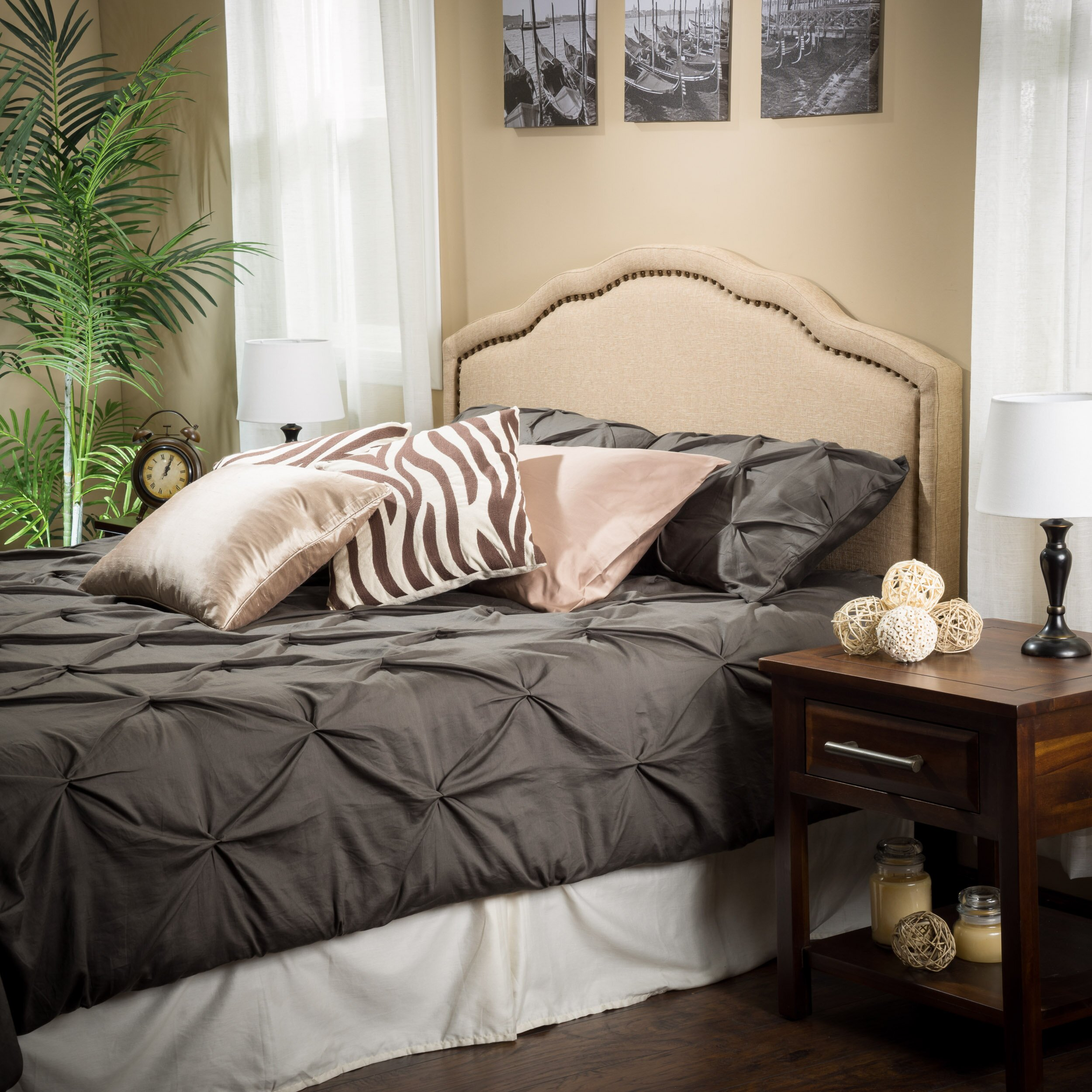 Melanie King Upholstered Headboard Joss Amp Main