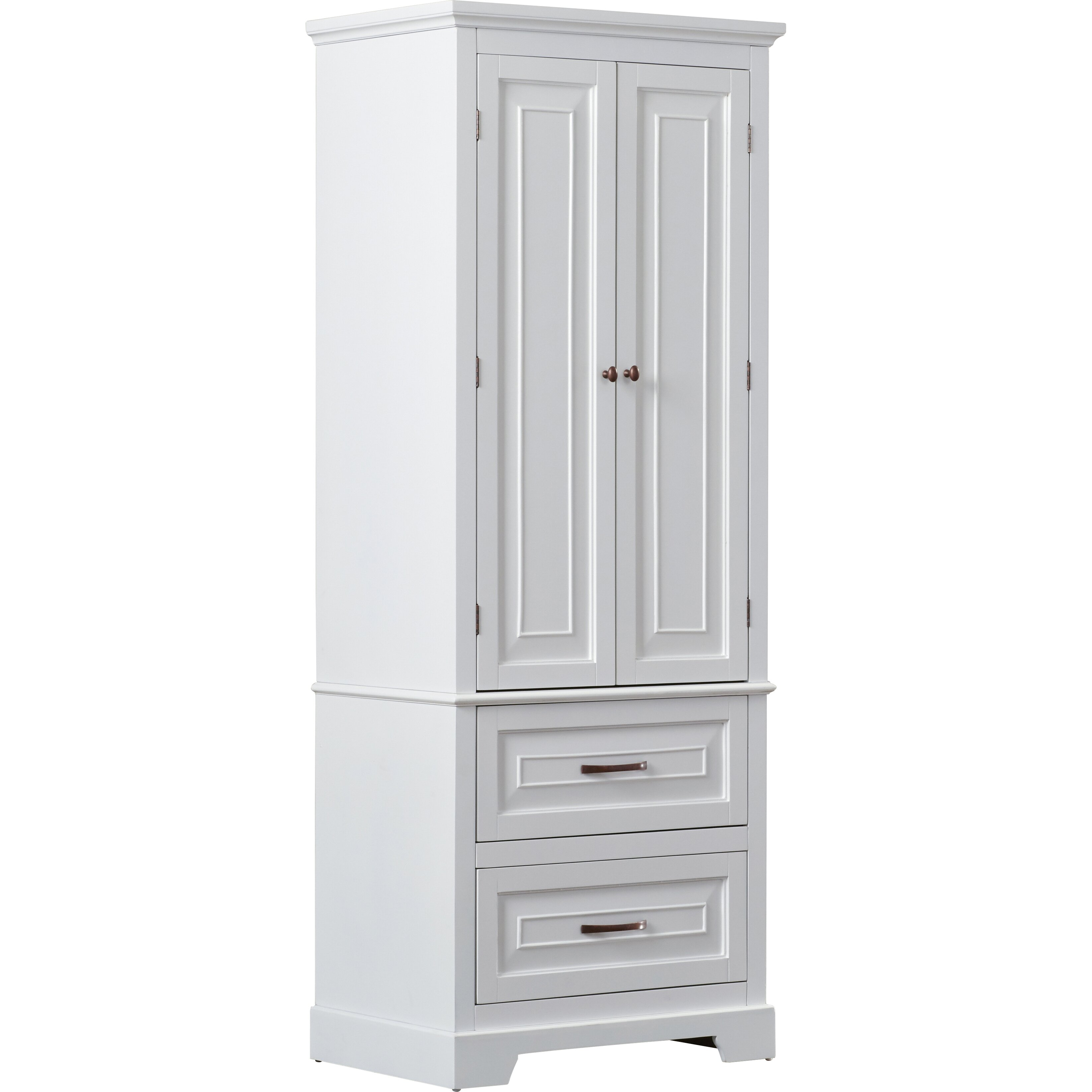 """Free Standing Kitchen Cabinets Pictures: Alcott Hill Prater 24"""" X 62"""" Free Standing Cabinet"""