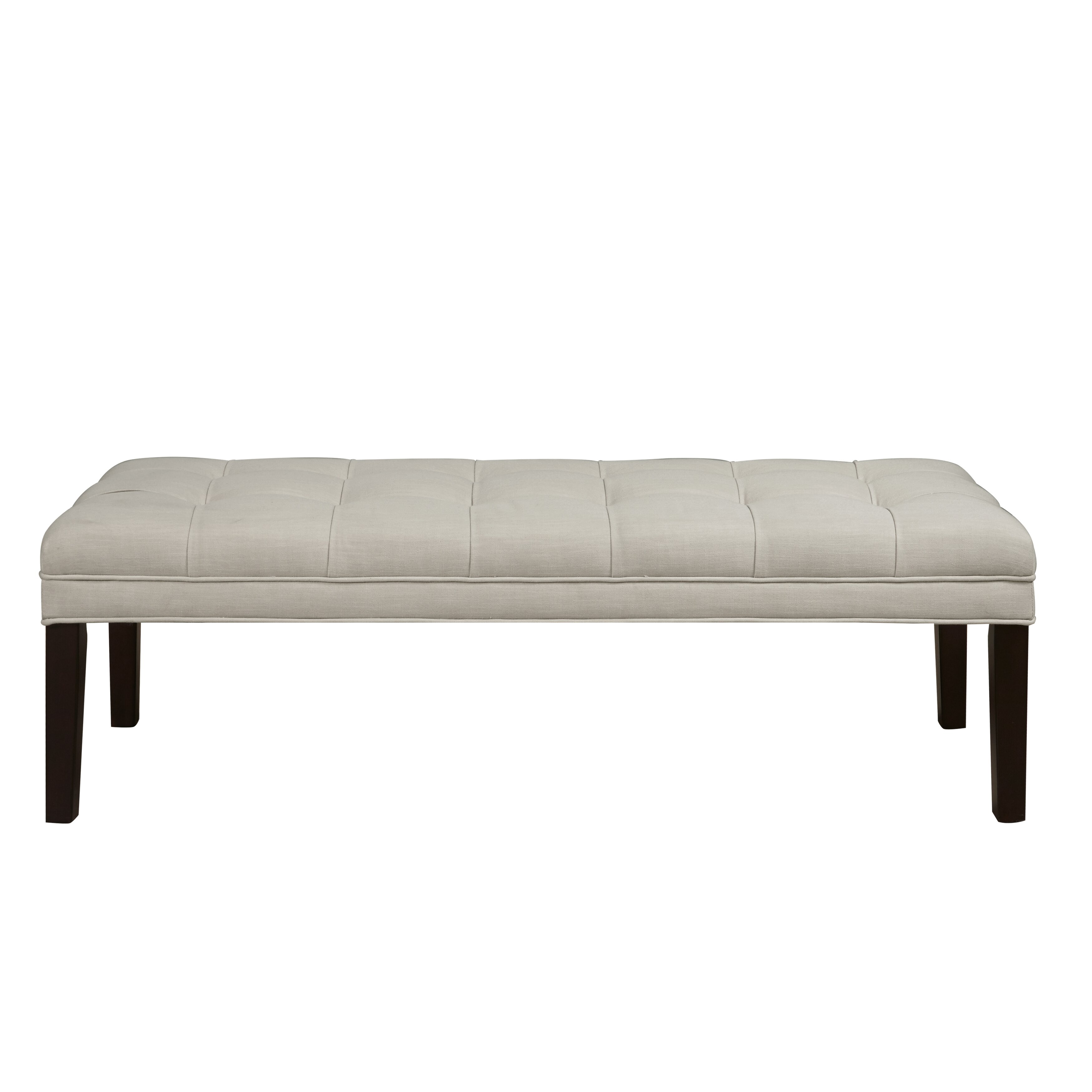 alcott hill northbrook upholstered bedroom bench reviews