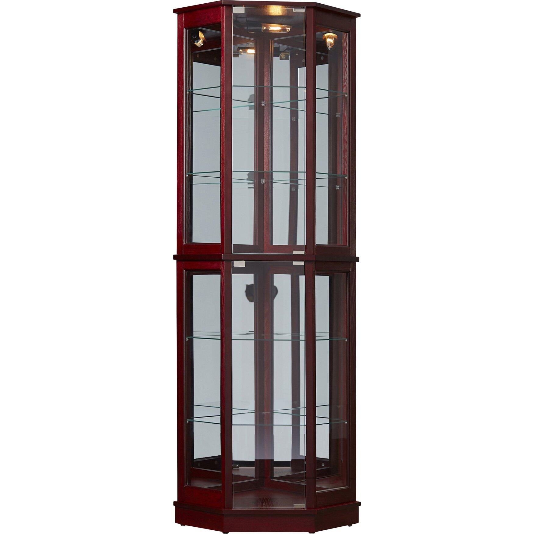 28 floor curio cabinets loyer floor standing curio cabinet