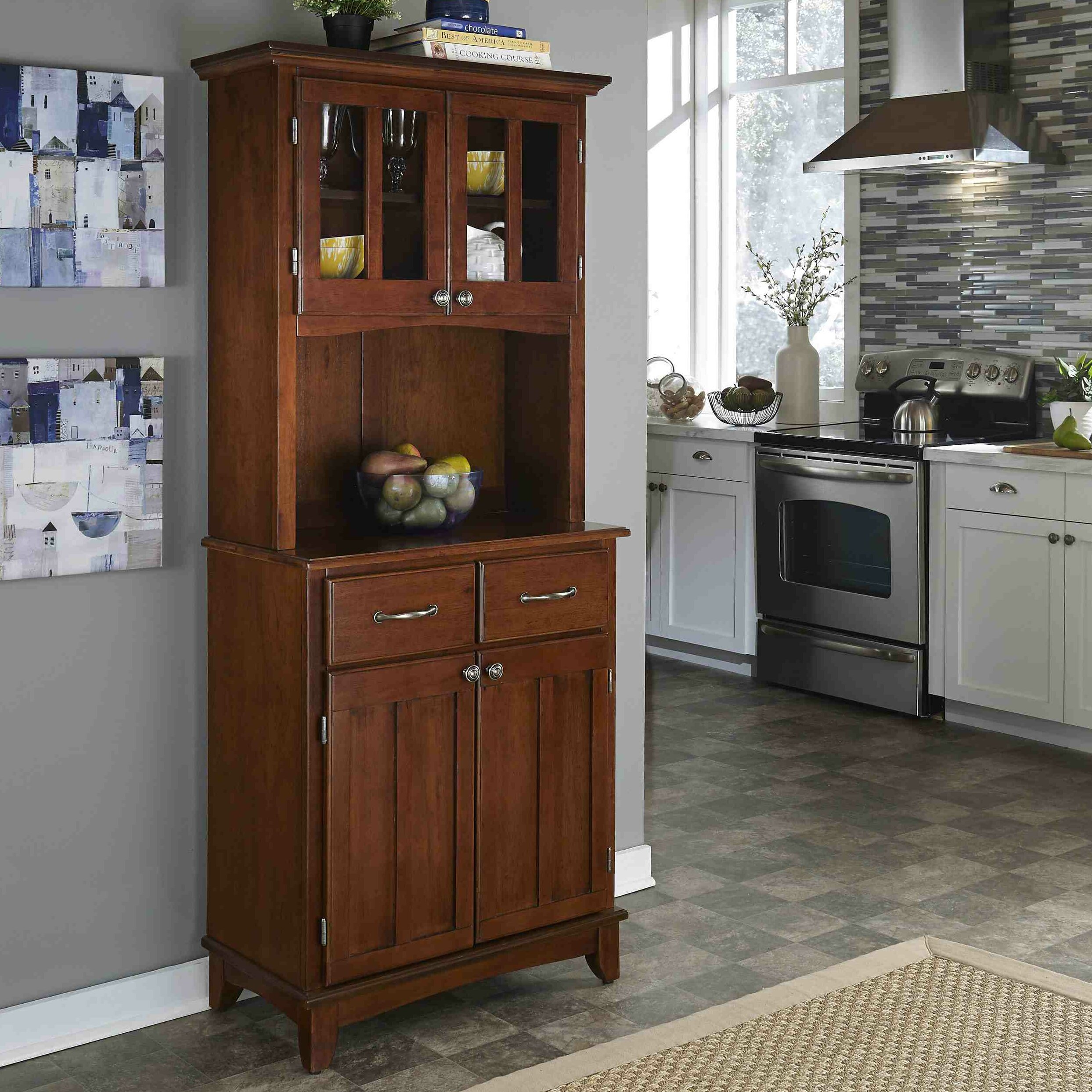 chinese kitchen cabinets reviews alcott hill sedgemoor solid hardwood china cabinet 5398