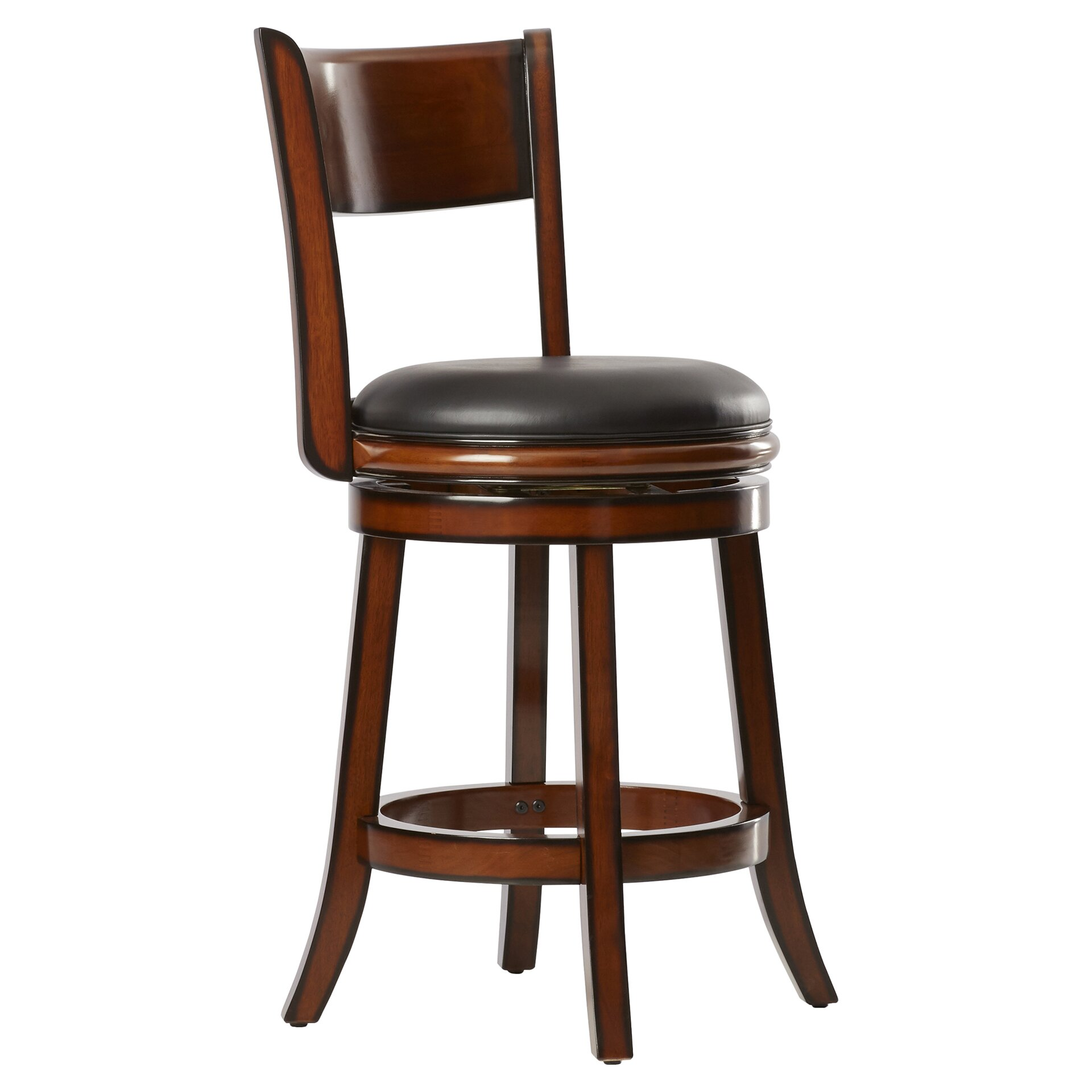 Shiloh 24 Quot Swivel Bar Stool With Cushion Wayfair