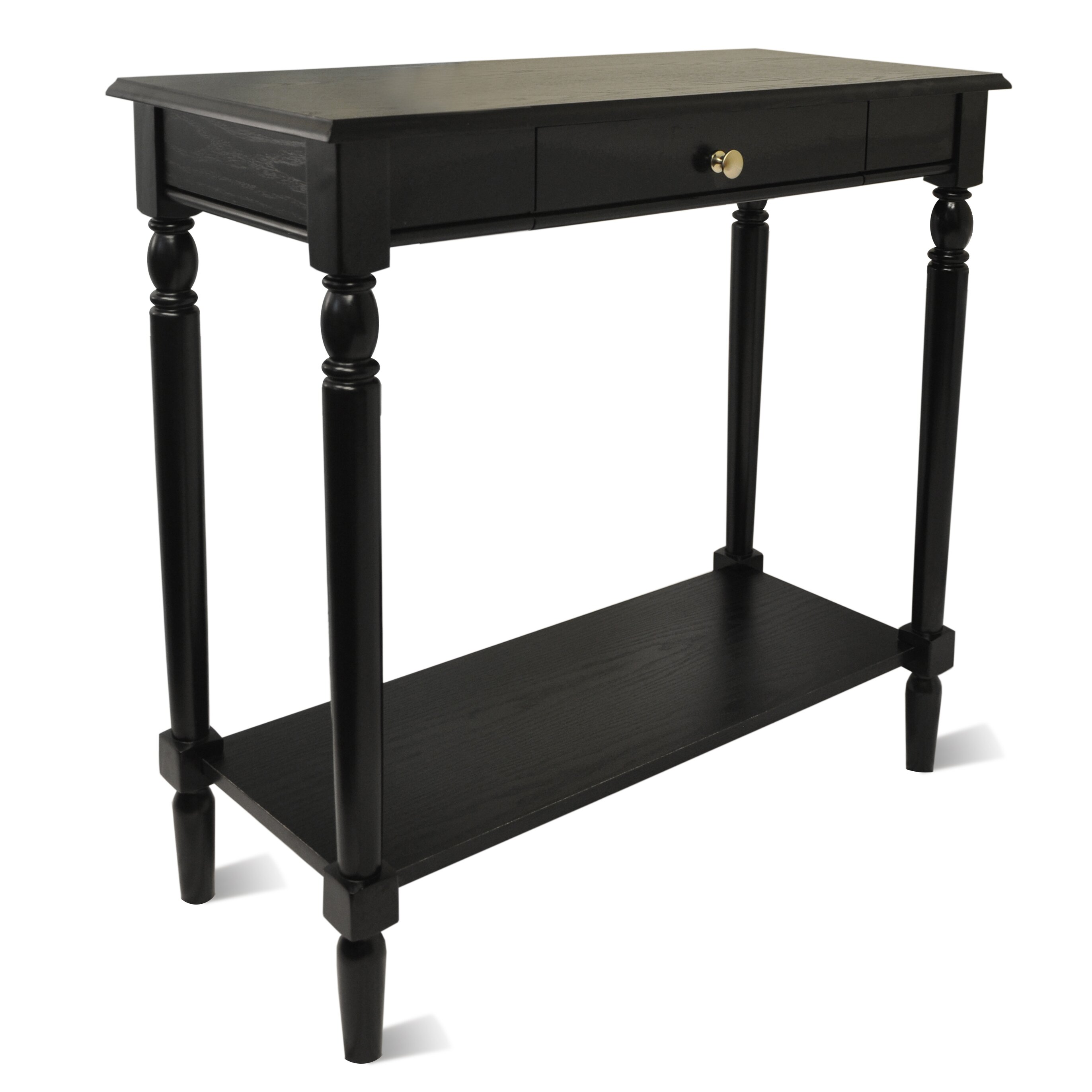 carlisle console table wayfair. Black Bedroom Furniture Sets. Home Design Ideas