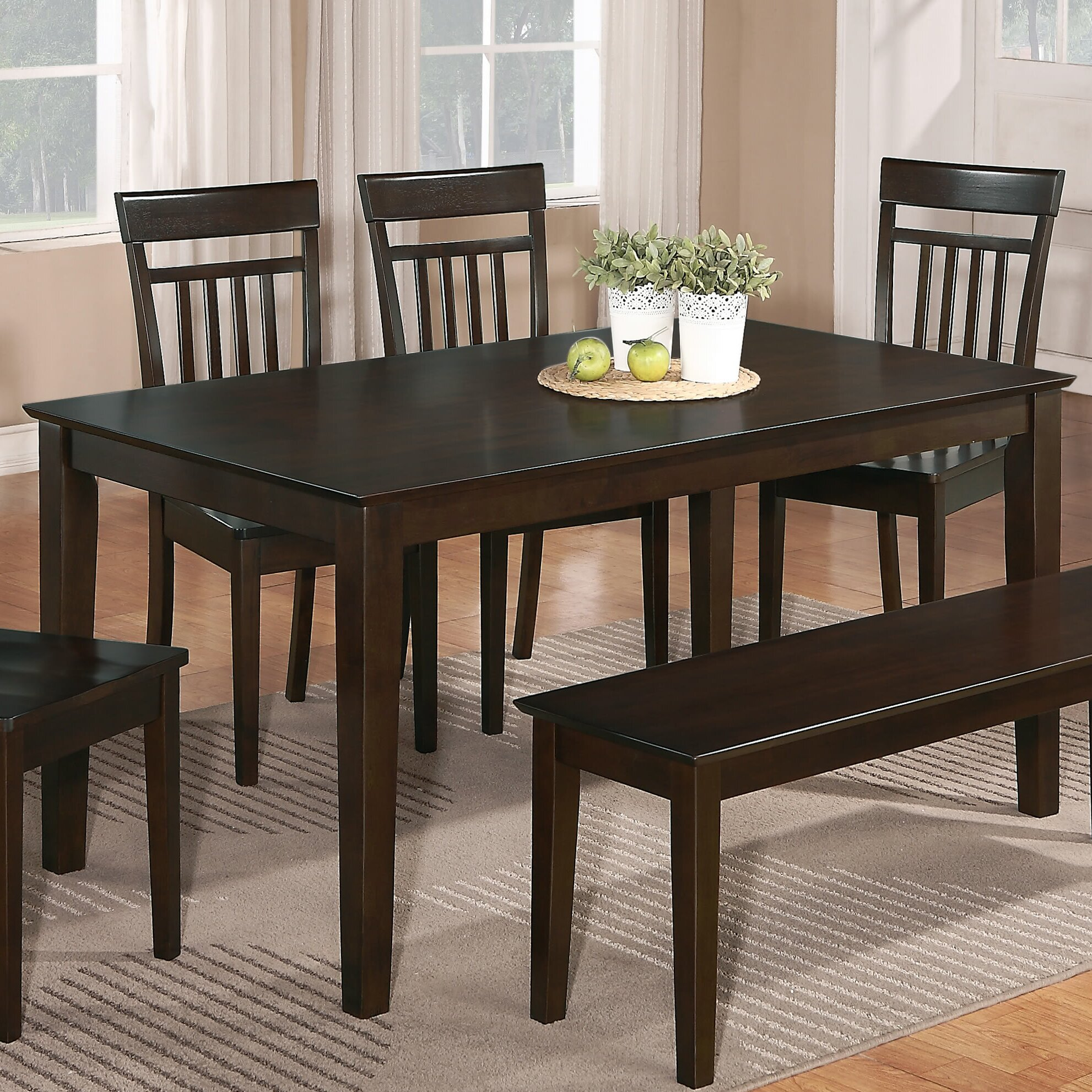 Charlton Home Fienley Dining Table & Reviews | Wayfair