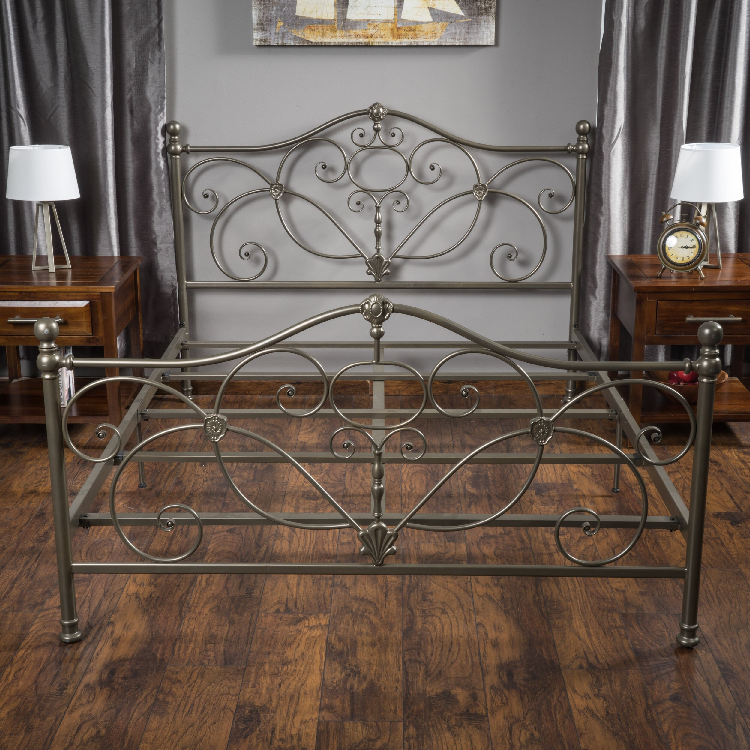 Weston Wy Steel Buildings Reviews 2: Charlton Home Bed Frame & Reviews