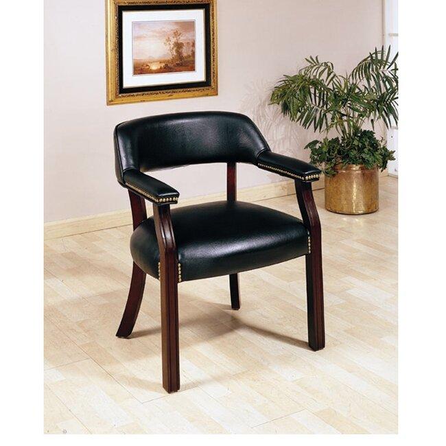 Charlton Home Walford Vinyl Home Office Arm Chair