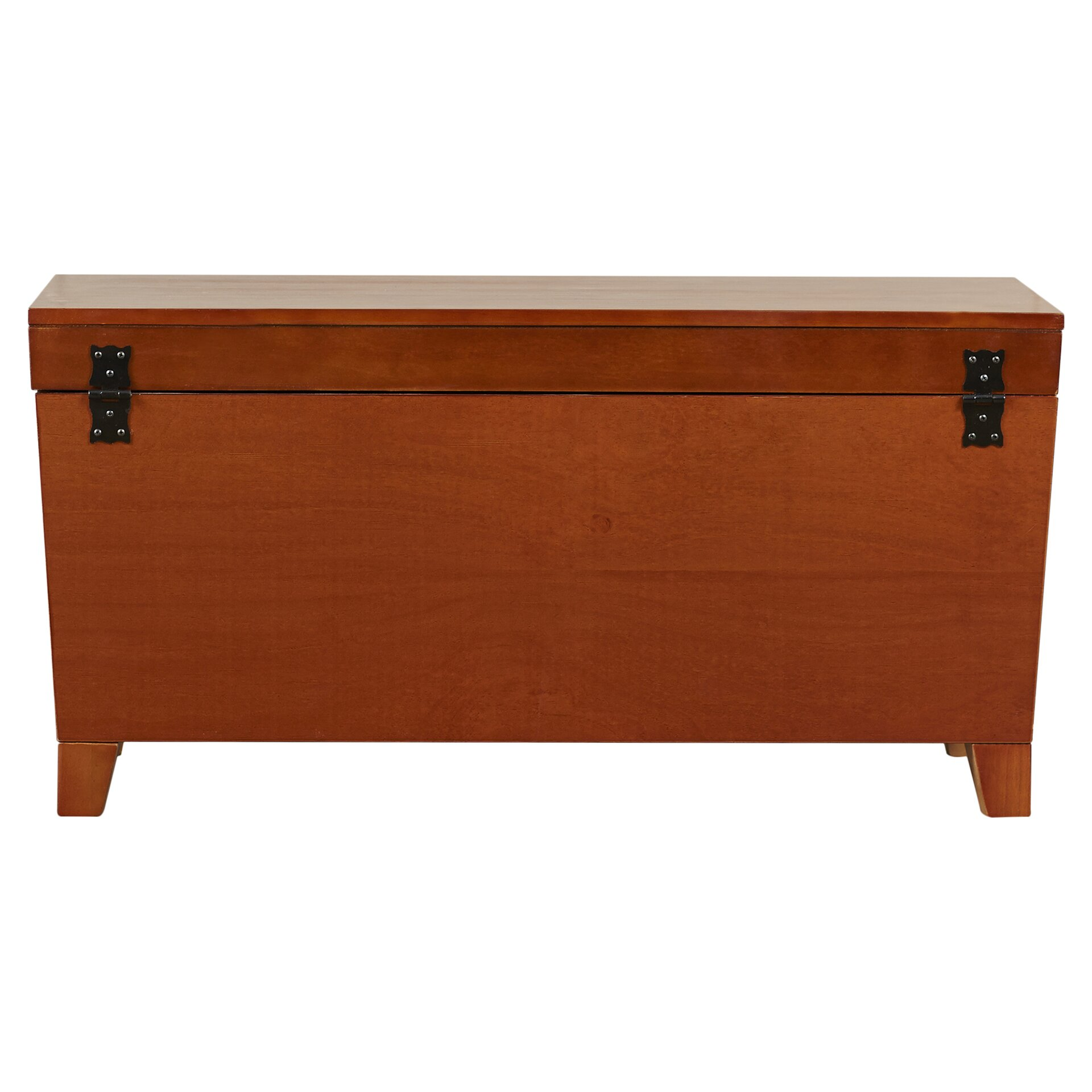 Charlton Home Bischoptree Trunk Coffee Table With Lift Top Reviews Wayfair
