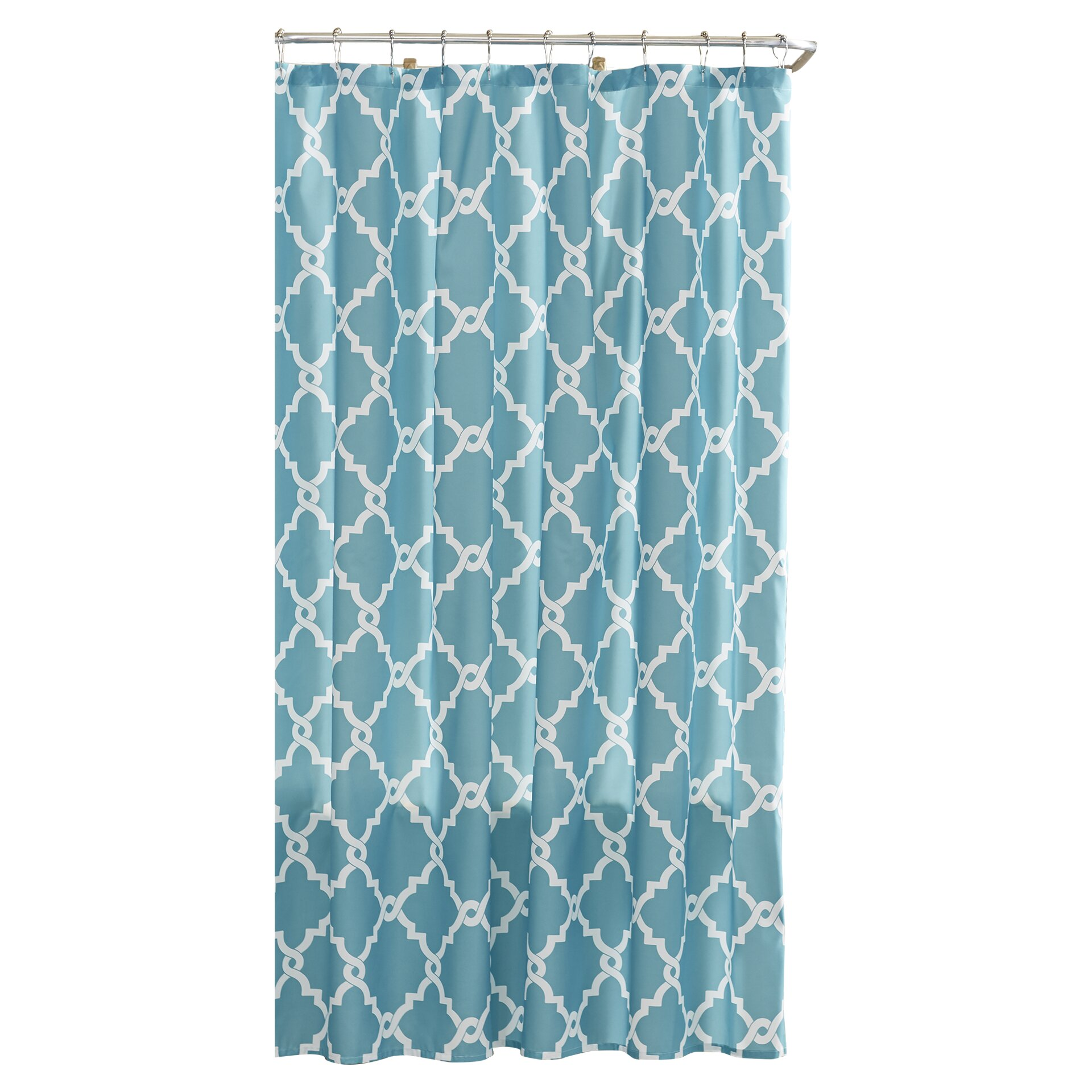 Charlton Home Laverick Microfiber Shower Curtain Reviews