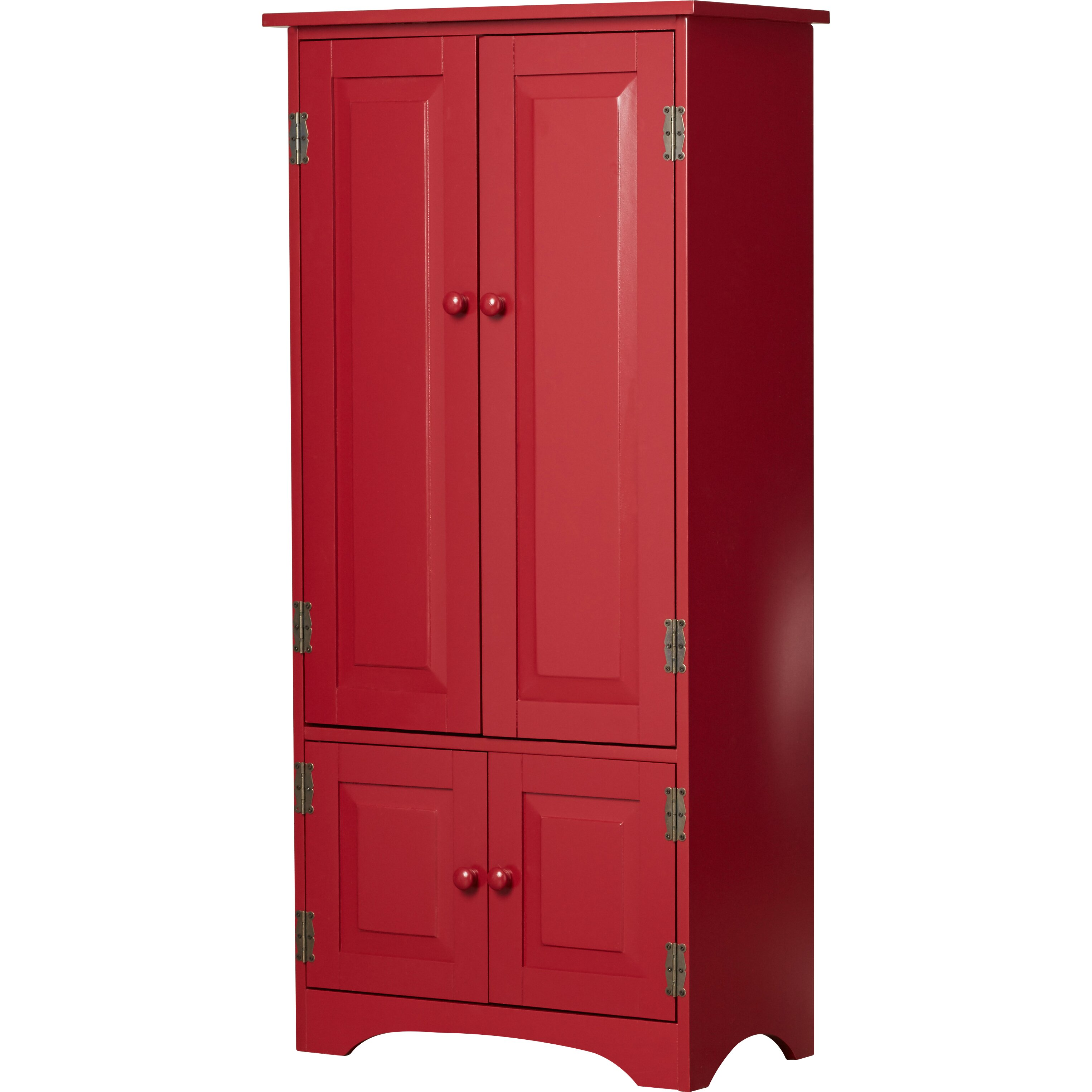 Charlton home hadleigh tall 2 door cabinet reviews wayfair for One day doors and closets reviews
