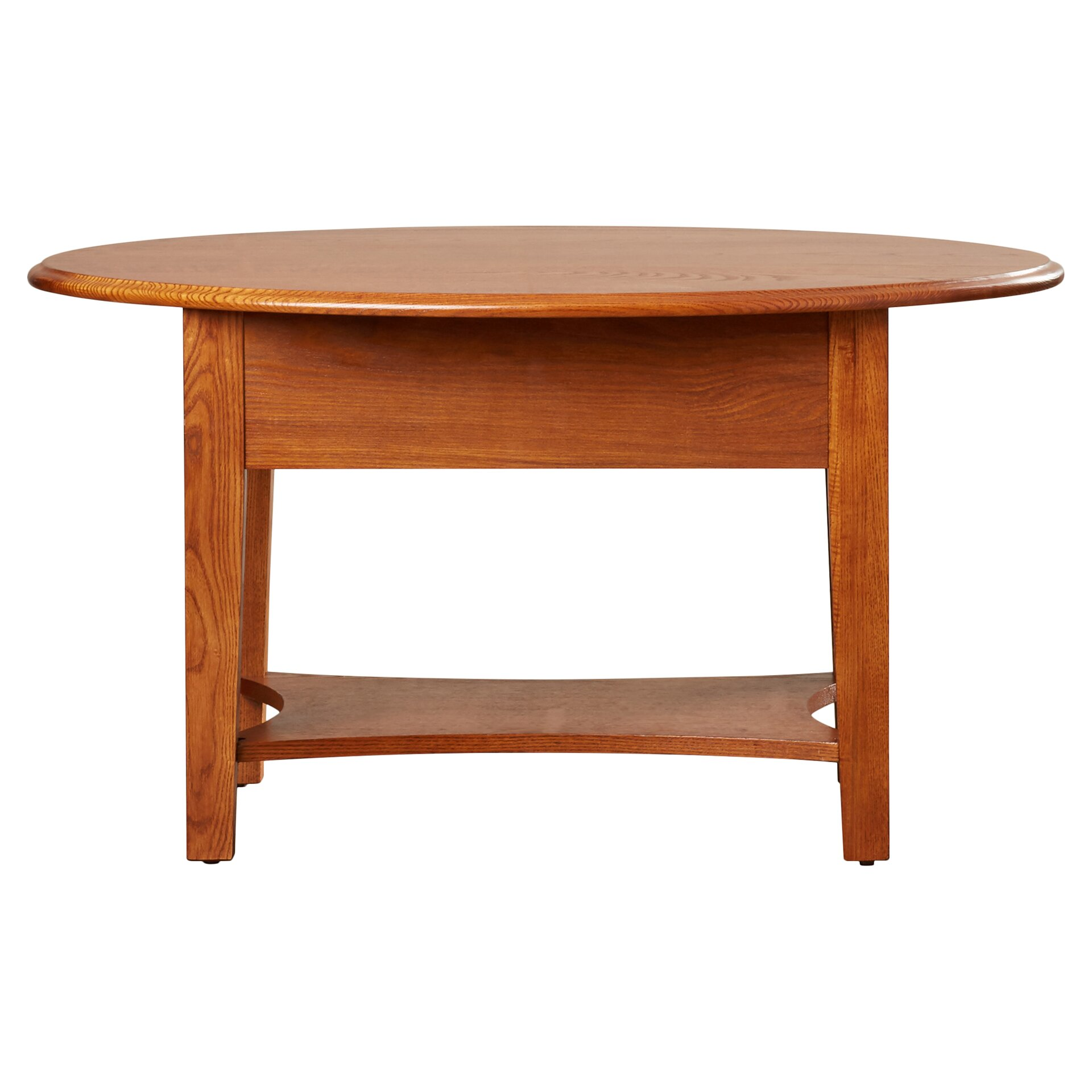 Apple valley oval coffee table wayfair for Wayfair oval coffee table