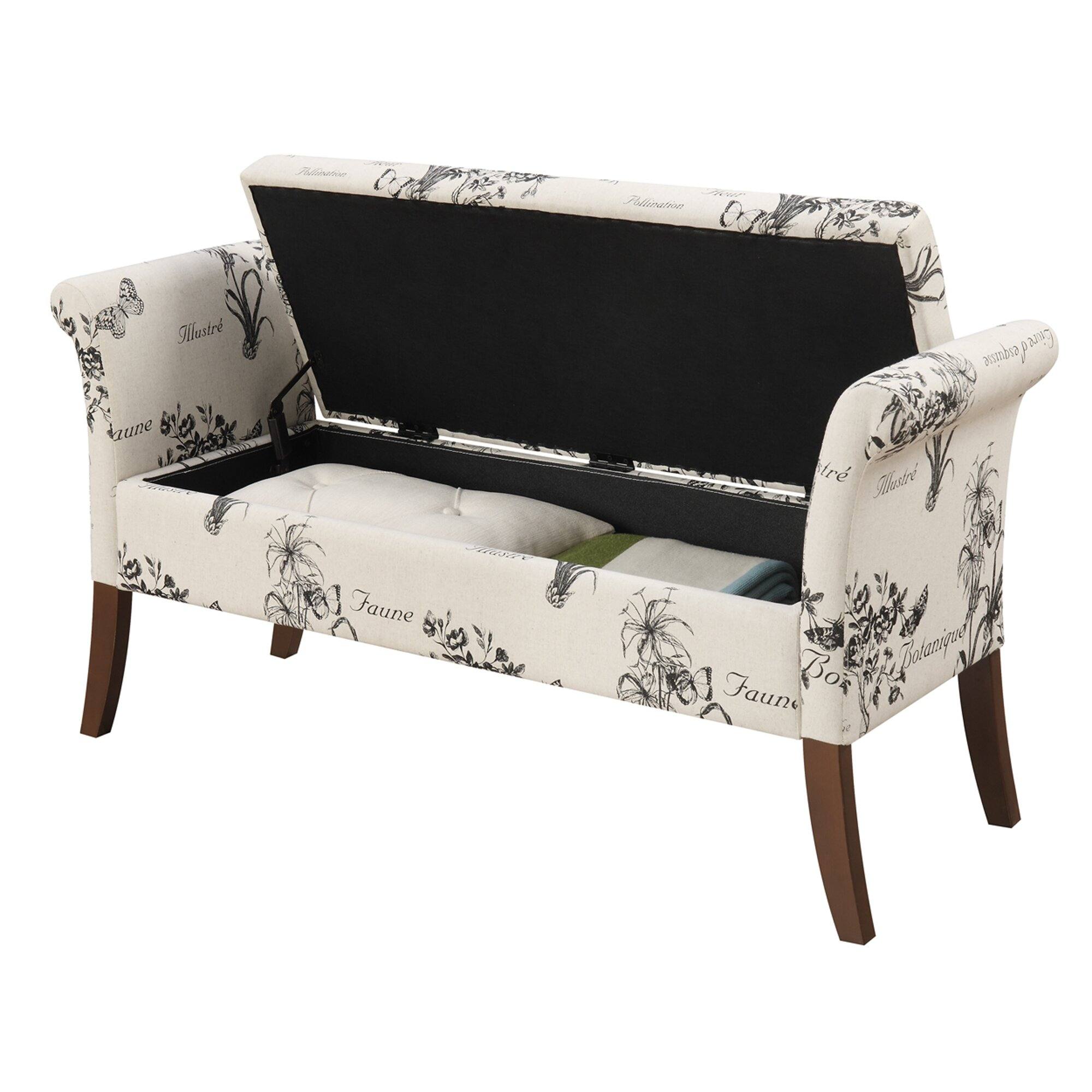 Charlton Home Elmhurst Storage Bench & Reviews