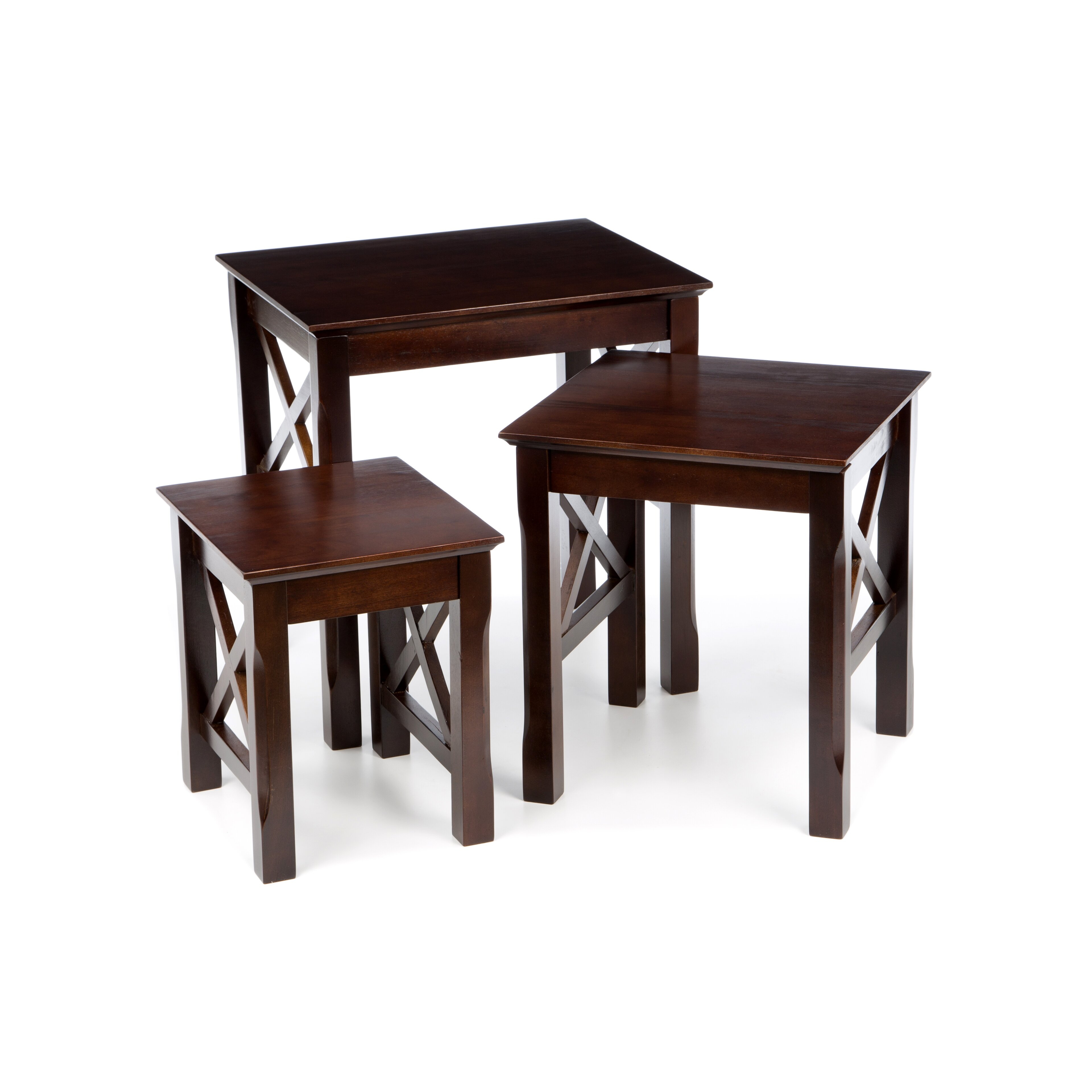 Room Furniture Nesting End Tables Charlton Home SKU: CHLH4548. Full resolution  portraiture, nominally Width 3840 Height 3840 pixels, portraiture with #311C18.