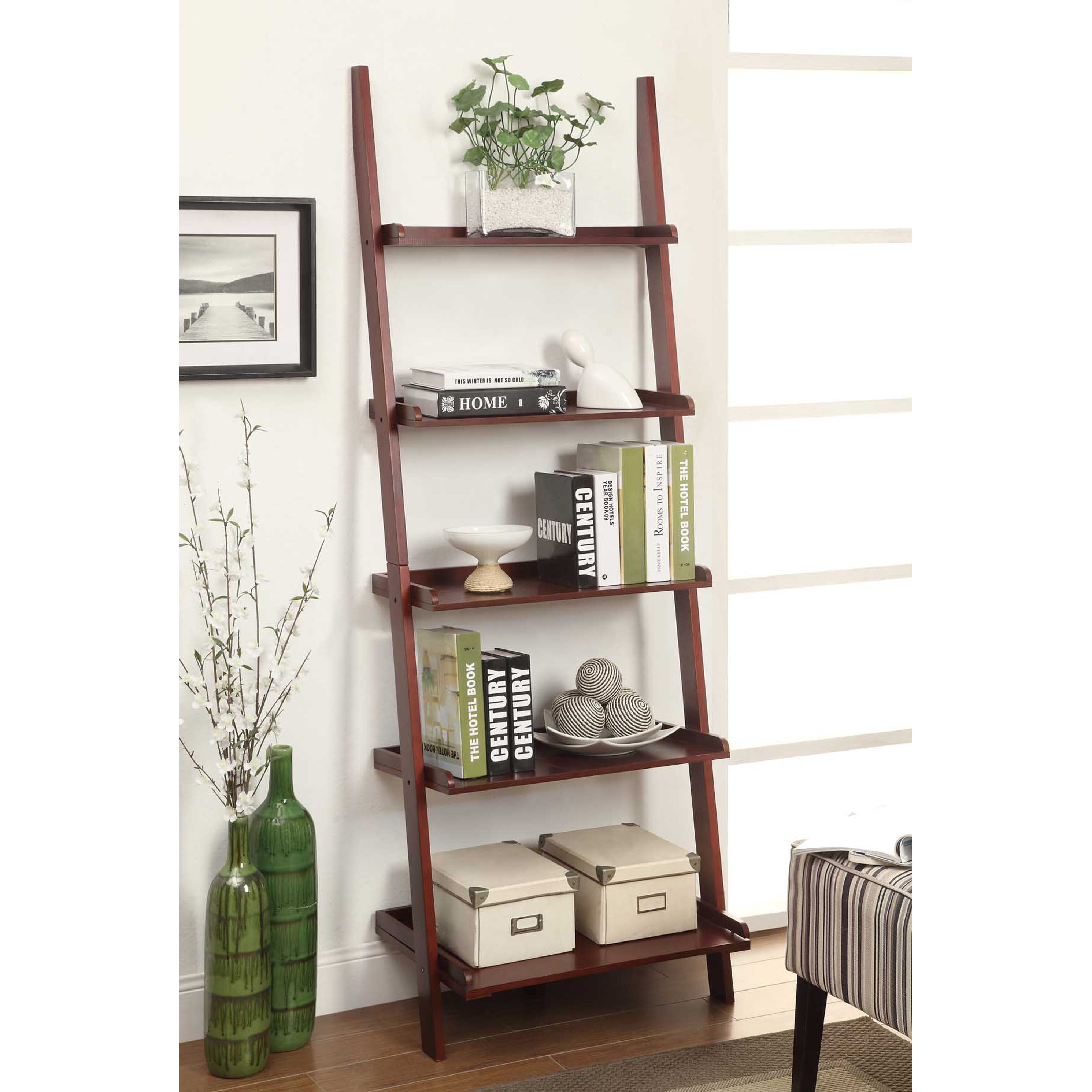 "Charlton Home Carlisle 72"" Ladder Bookcase & Reviews"