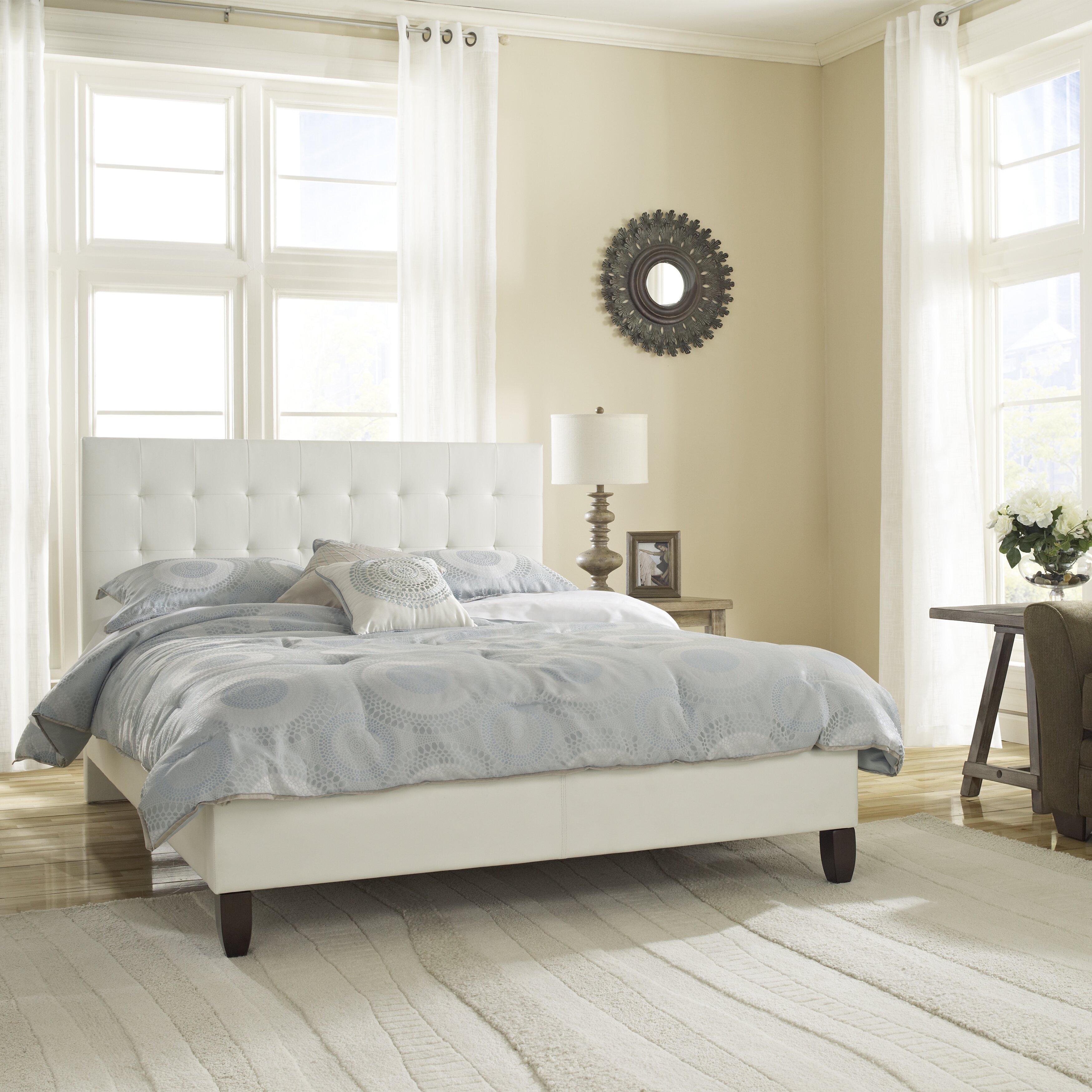 Varick Gallery Cortez Upholstered Storage Platform Bed