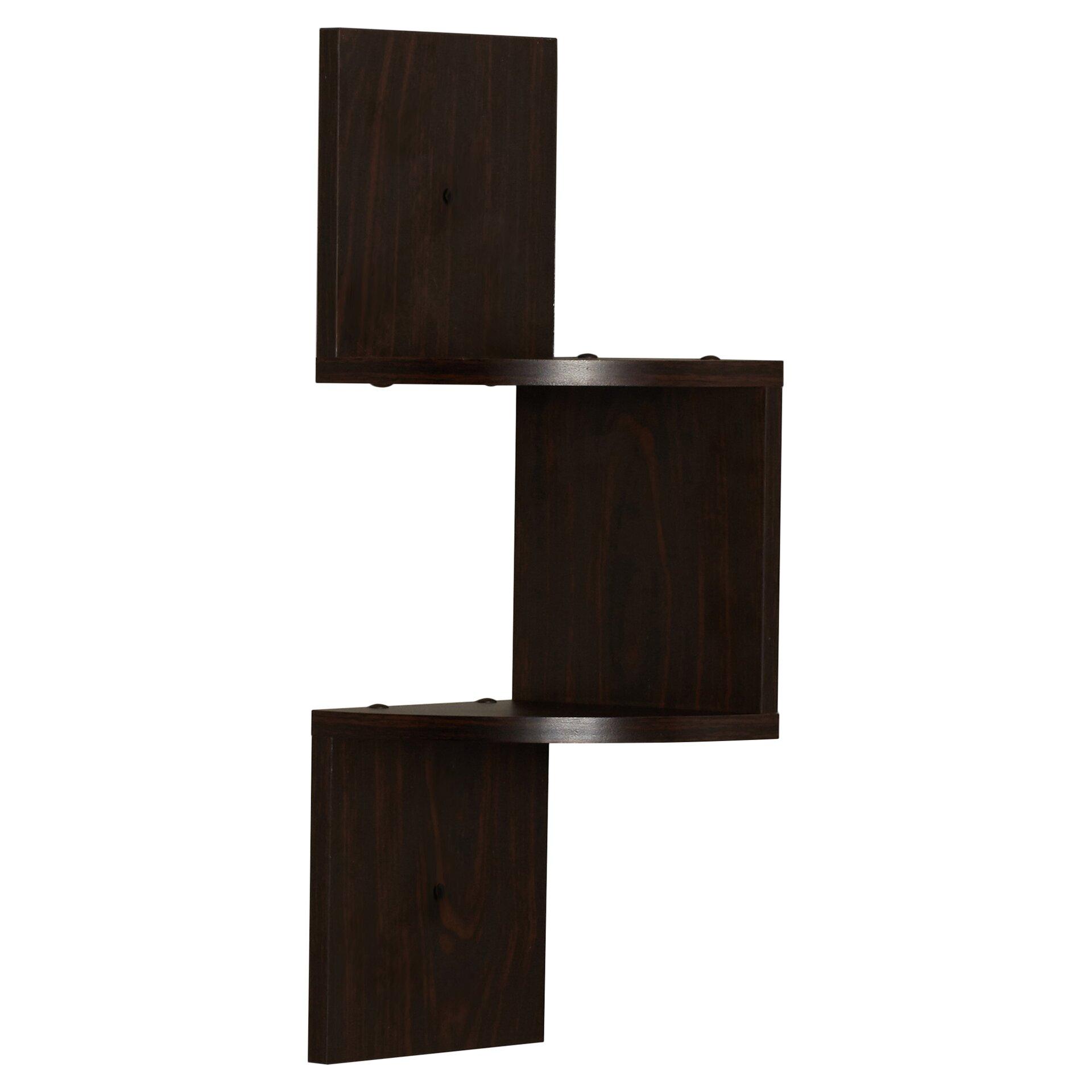 varick gallery ashland corner wall shelf reviews wayfair. Black Bedroom Furniture Sets. Home Design Ideas
