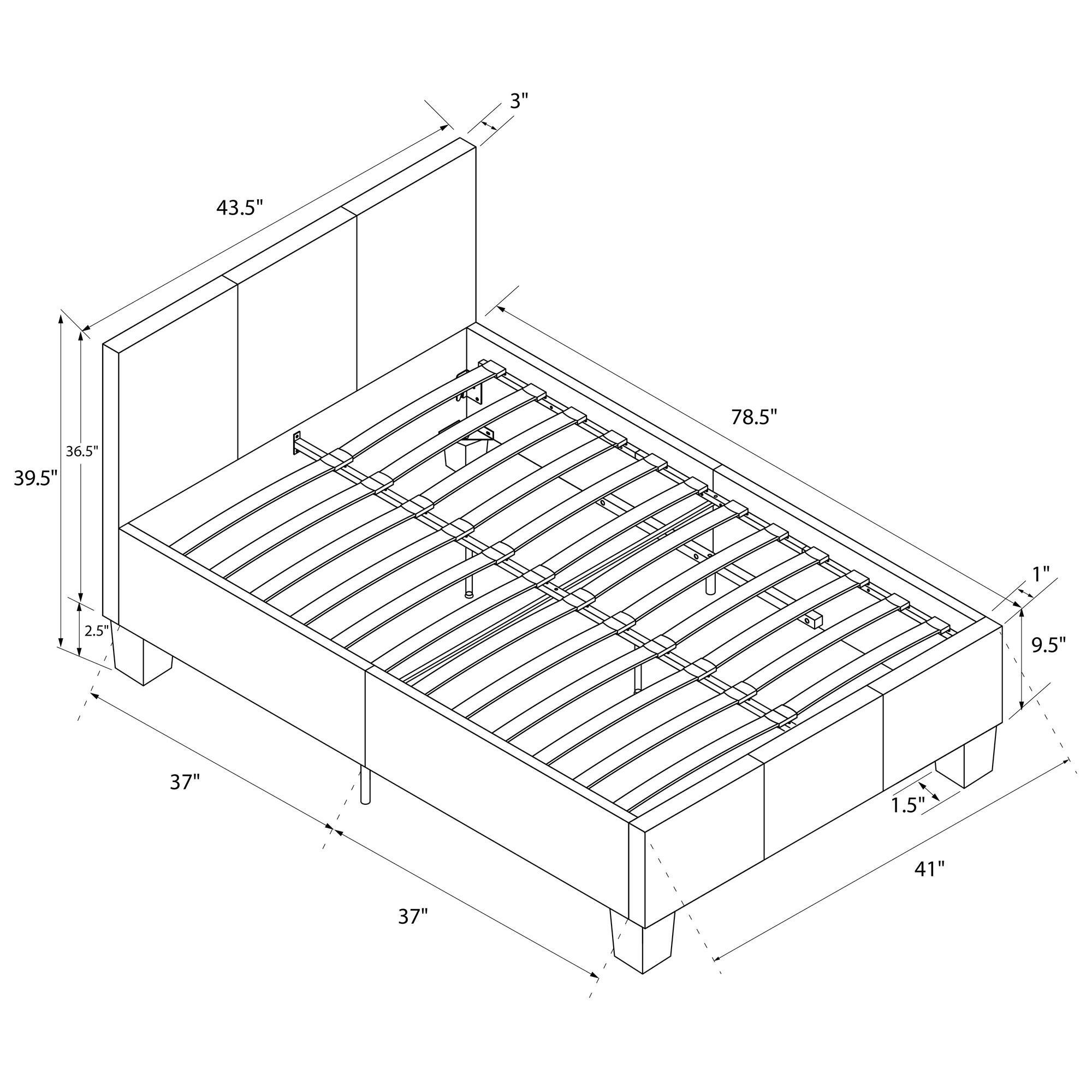 Varick Gallery Spruce Hill Upholstered Platform Bed