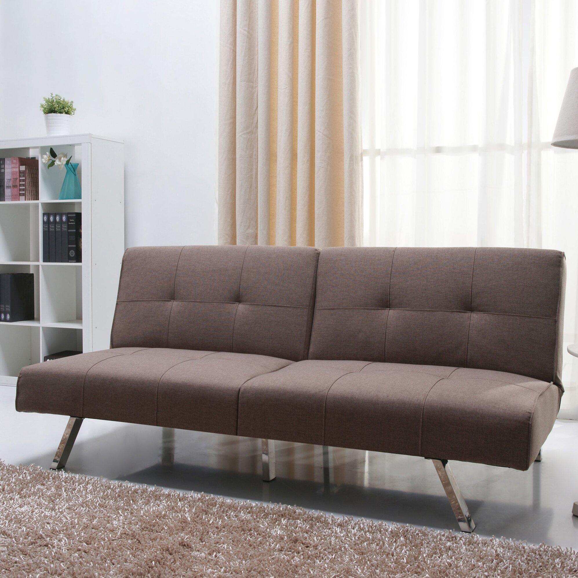 Varick Gallery Rosehill Foldable Futon Sofa Bed Amp Reviews