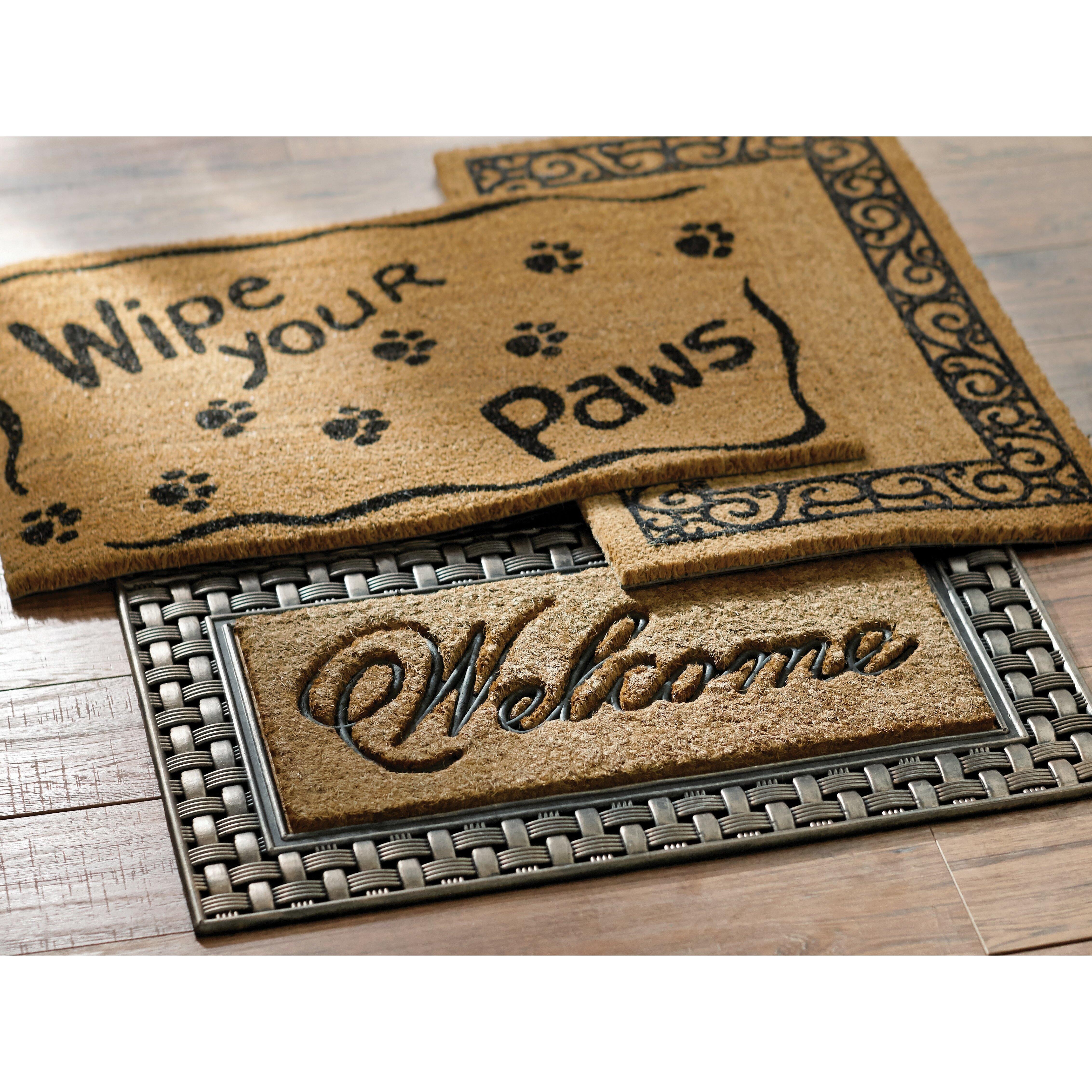 Ruff Life Wipe Your Paws Doormat Wayfair