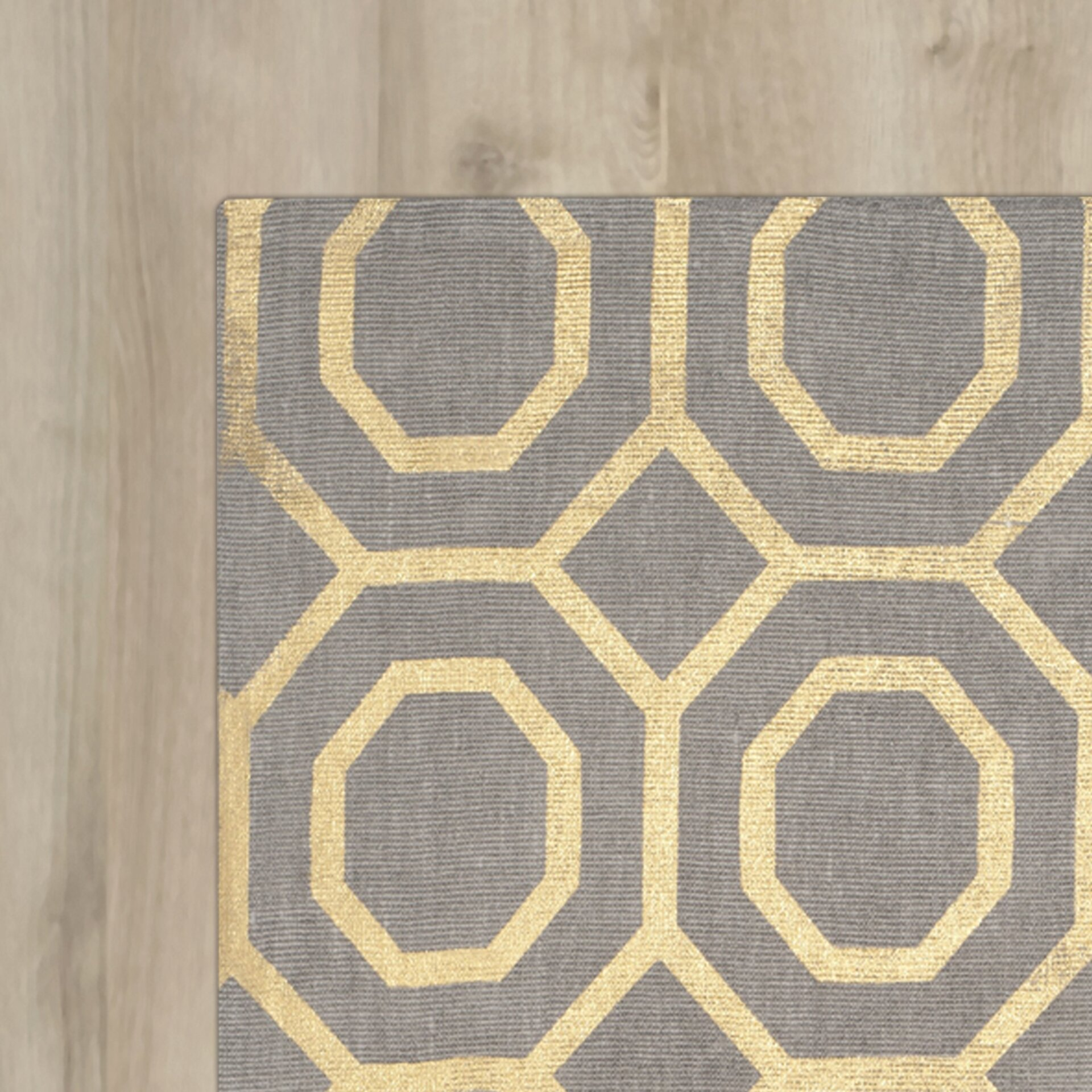 Outdoor halloween decorations for trees - Columbus Circle Hand Loomed Grey Gold Area Rug By Varick Gallery