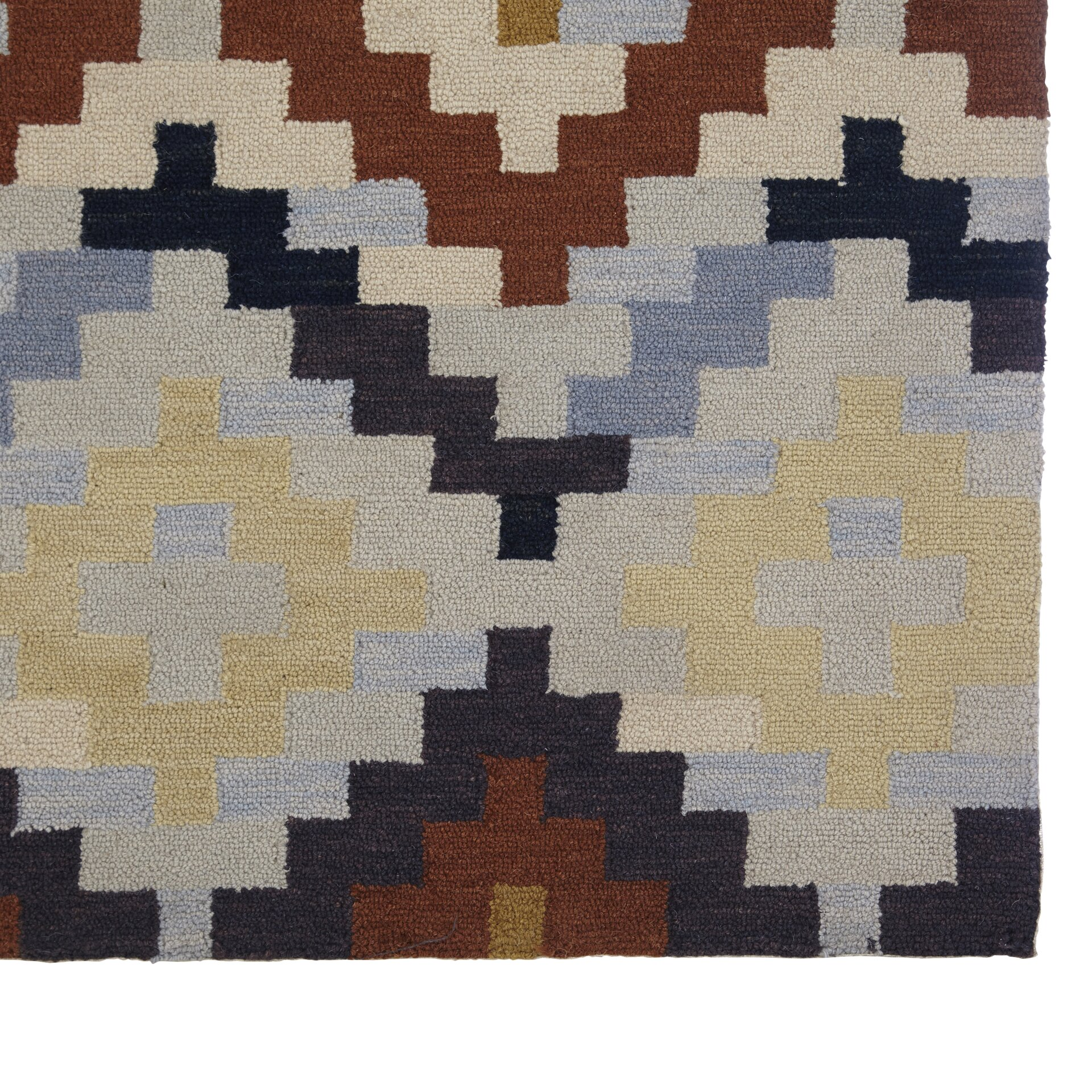 Checked Area Rugs: Varick Gallery Pitkin Checked Area Rug & Reviews