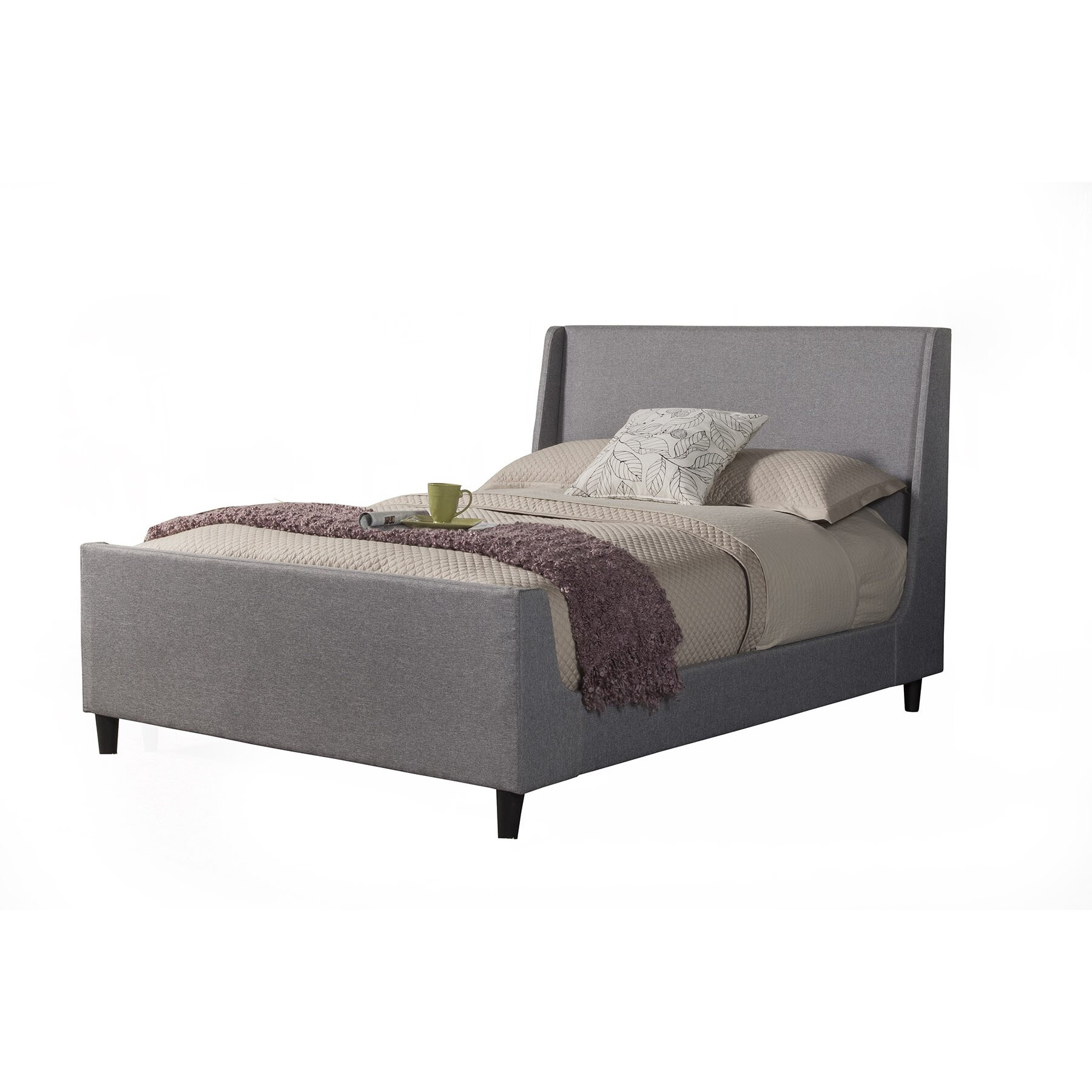 Upholstered Platform Bed : Brayden Studio Marcano Upholstered Platform Bed & Reviews  Wayfair