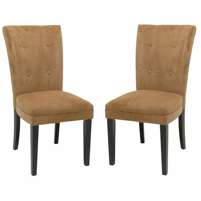 Brayden Studio Baldwin Parsons Chair with Microfiber Seat