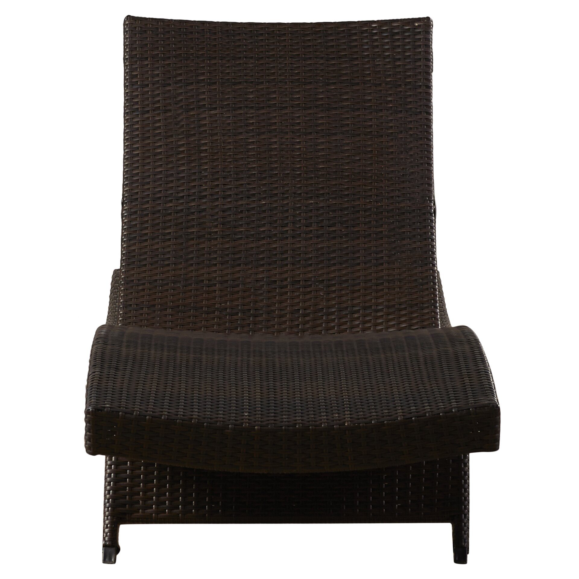 Brayden Studio Gadbois Adjustable Chaise Lounge Amp Reviews