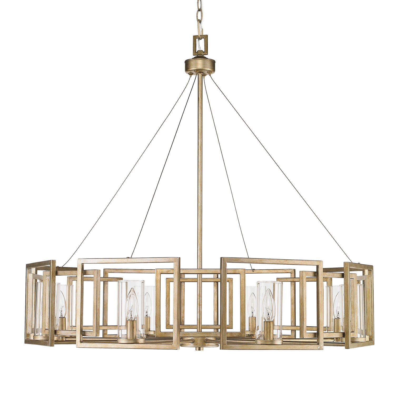 Brayden studio politte 9 light drum chandelier reviews wayfair - Lighting and chandeliers ...