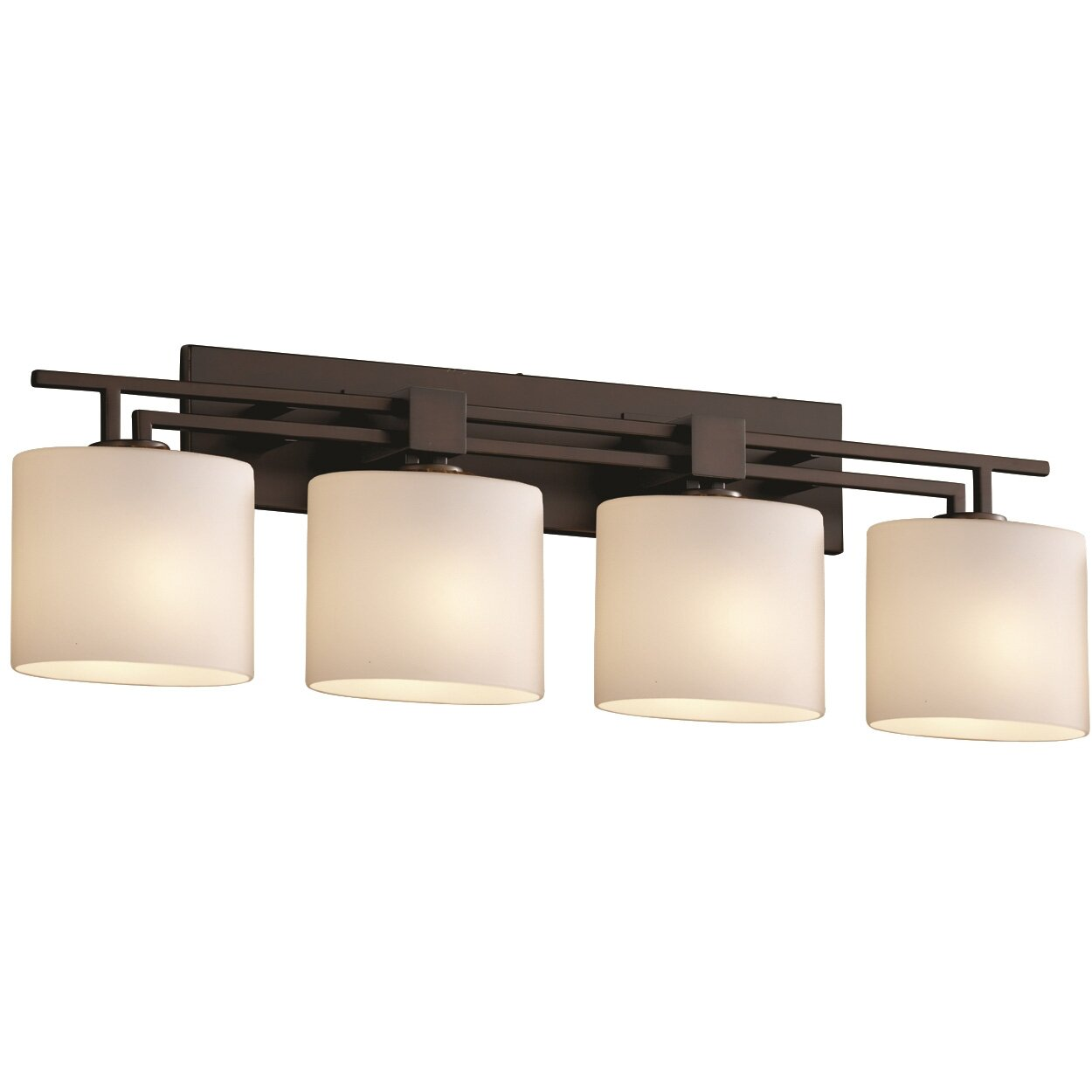Brayden Studio Luzerne 4 Light Vanity Light & Reviews Wayfair