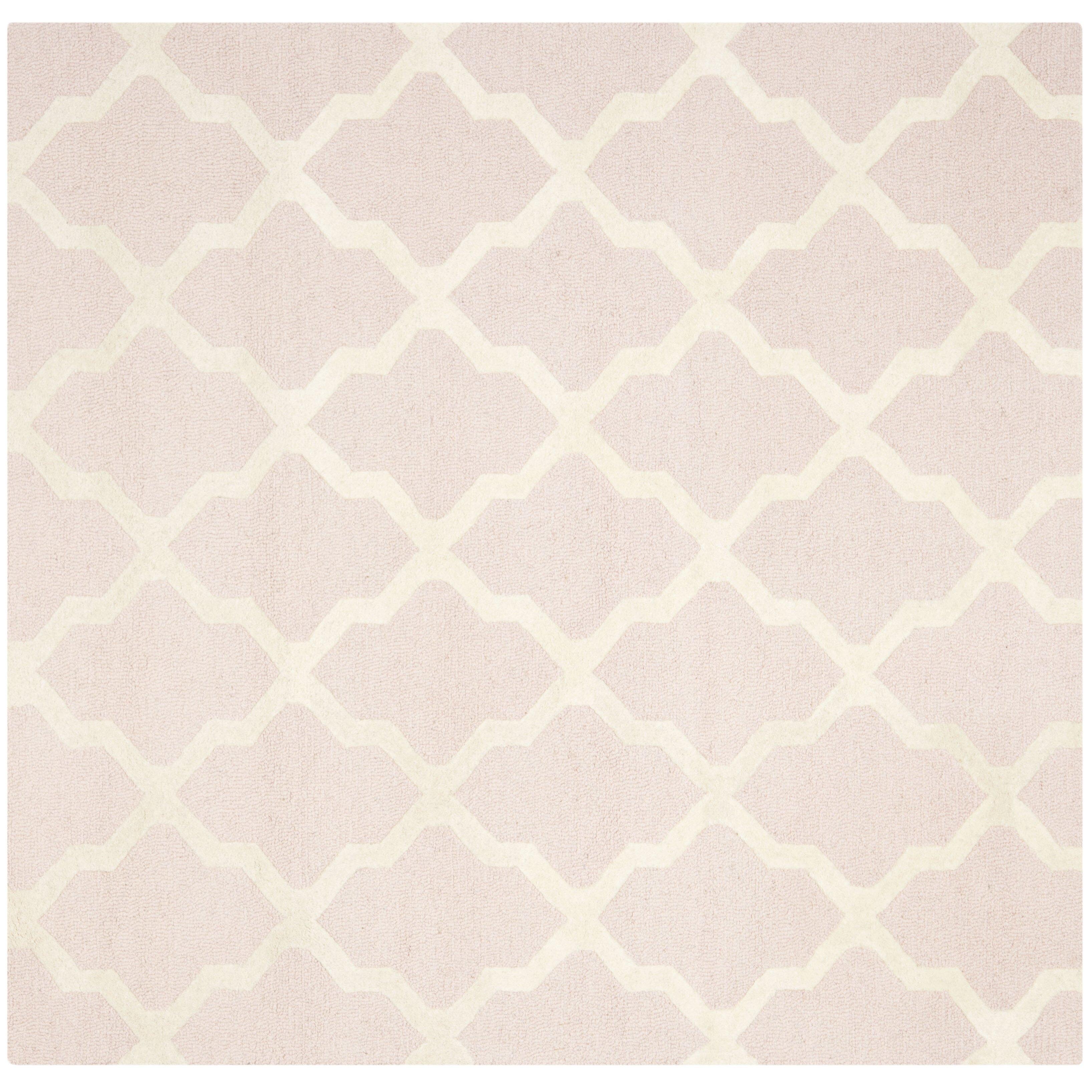 Light Pink/Ivory Area Rug