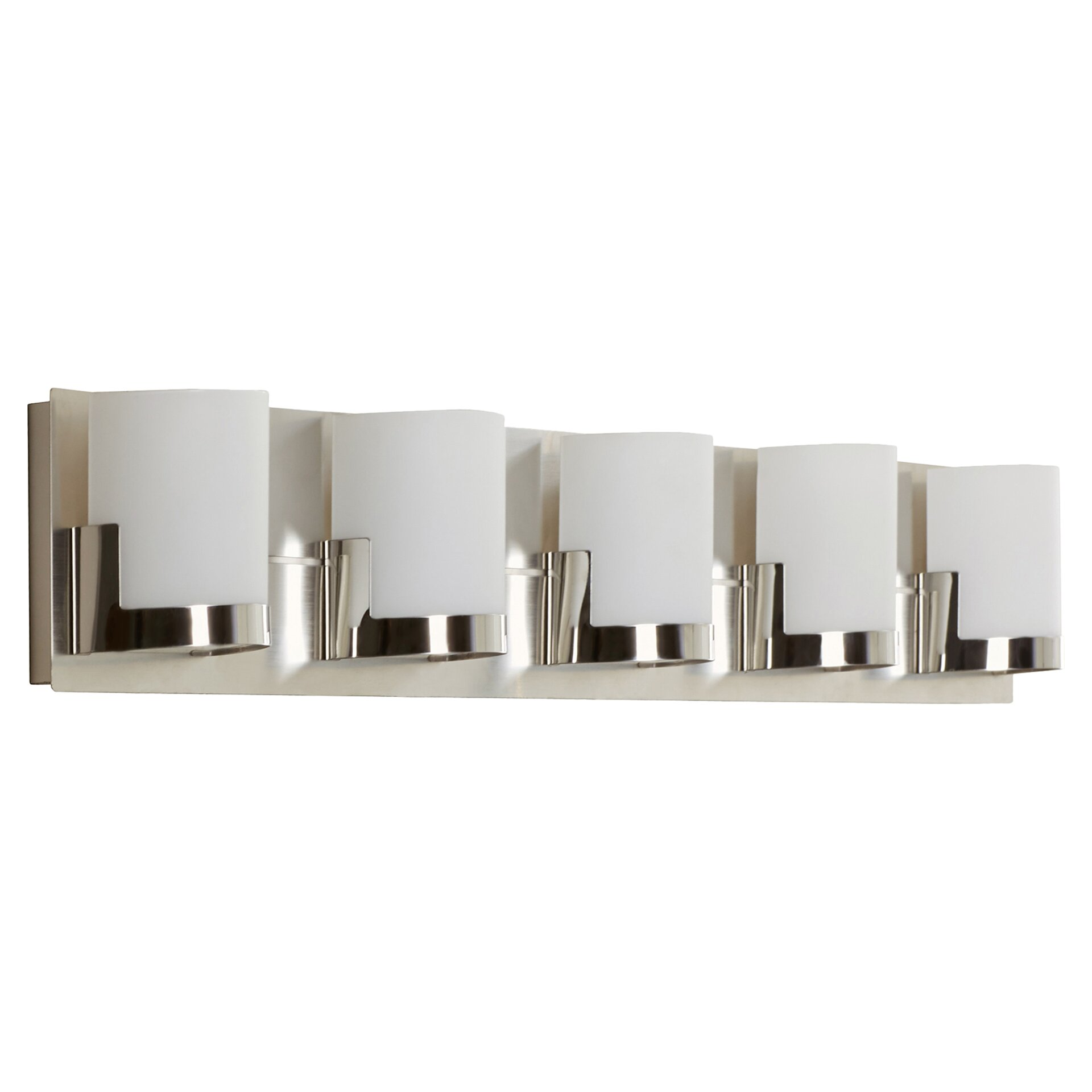 5 Light Bathroom Vanity Light: Congresbury 5 Light Bath Vanity Light