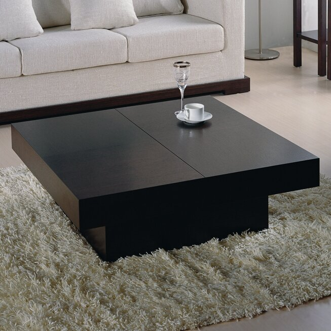 Wade Logan Benitez Storage Coffee Table Reviews Wayfair