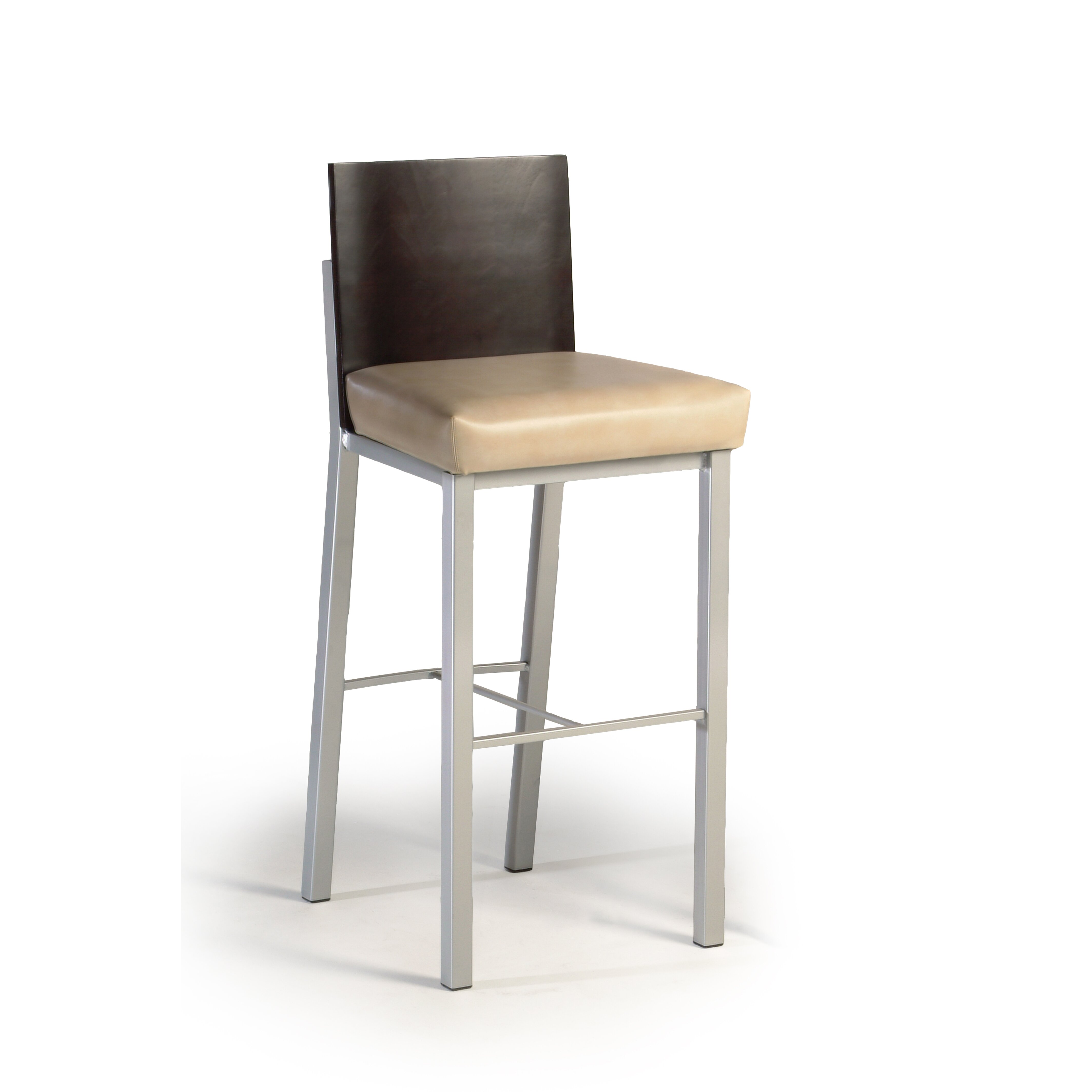 Amazing photo of Wade Logan Dominick 24 Bar Stool with Cushion AllModern with #866B45 color and 4256x4256 pixels
