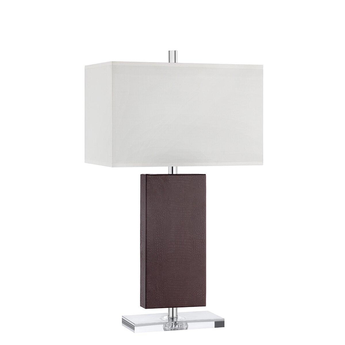 lighting lamps table lamps wade logan sku wadl4797. Black Bedroom Furniture Sets. Home Design Ideas