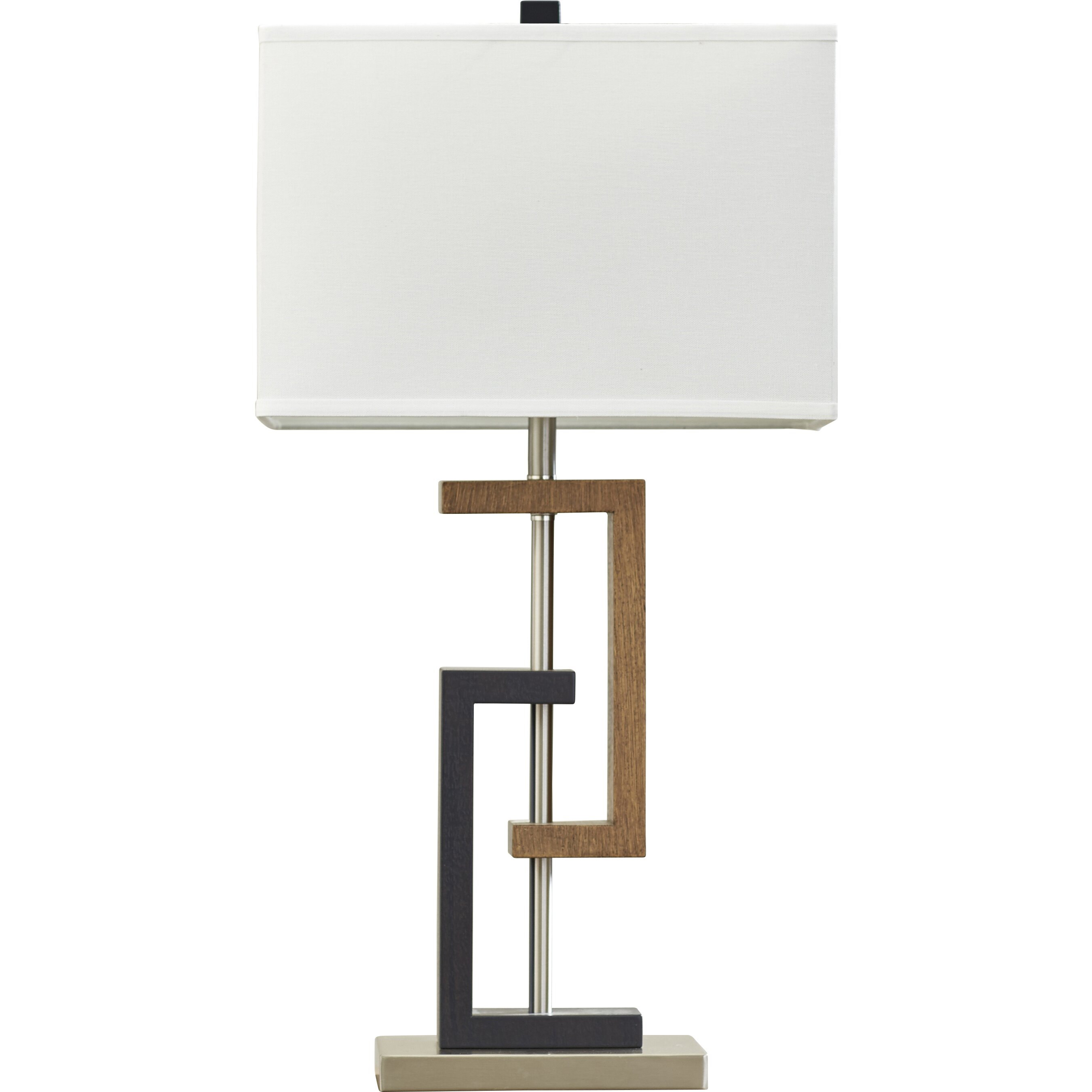 oliver h table lamp with rectangular shade reviews wa. Black Bedroom Furniture Sets. Home Design Ideas