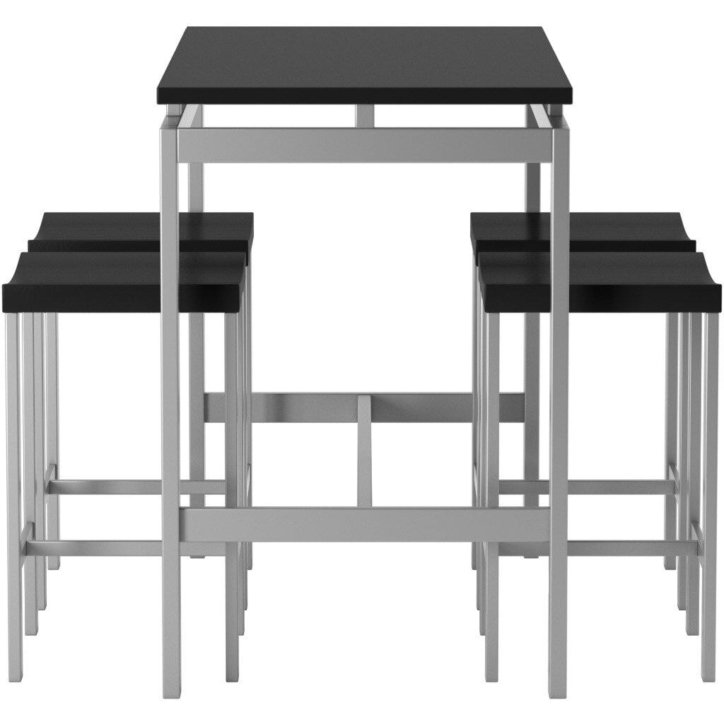 5 Piece Pub Table Set By Wade Logan - Table Designs