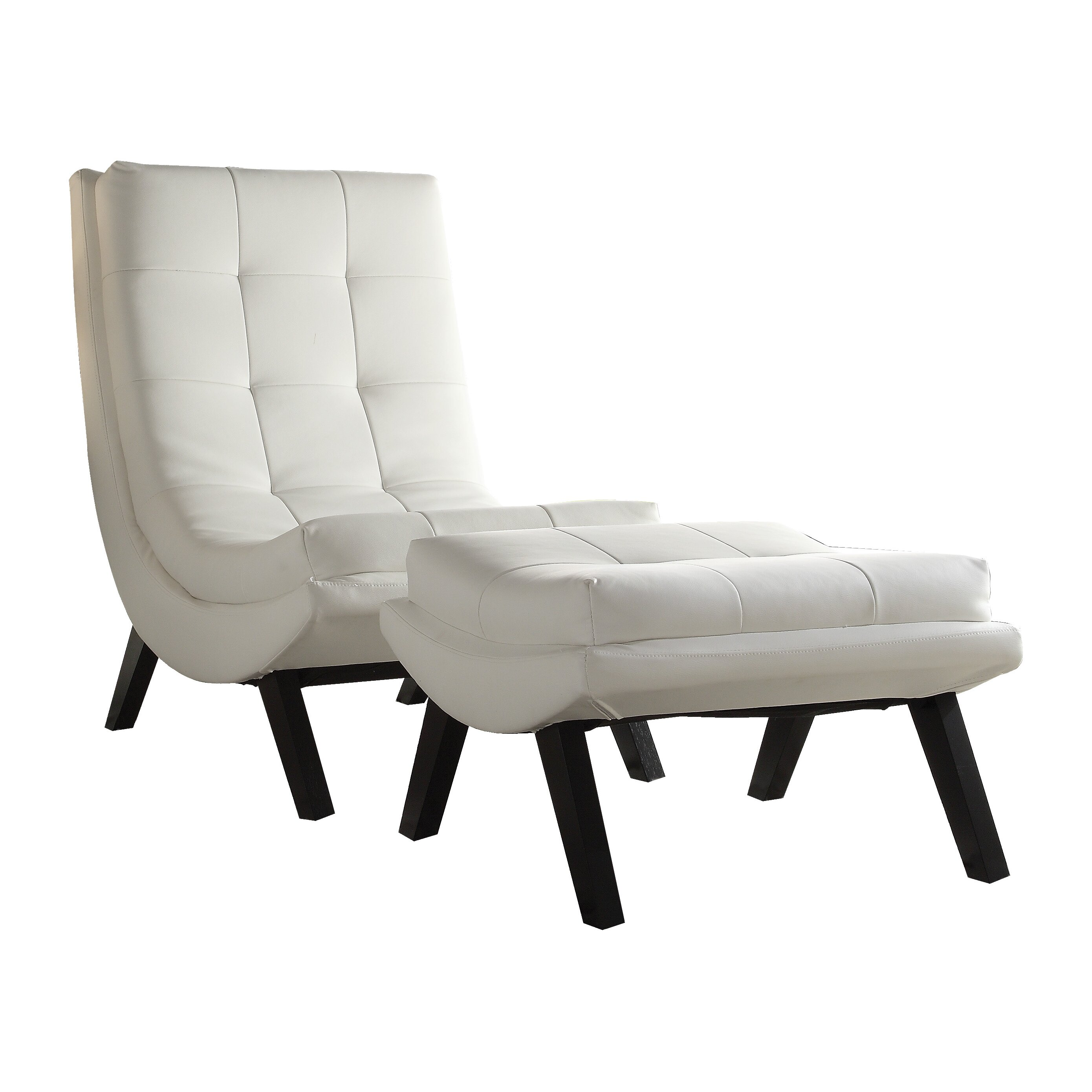 Corrigan Studio Dmitri Lounge Chair and Ottoman Set