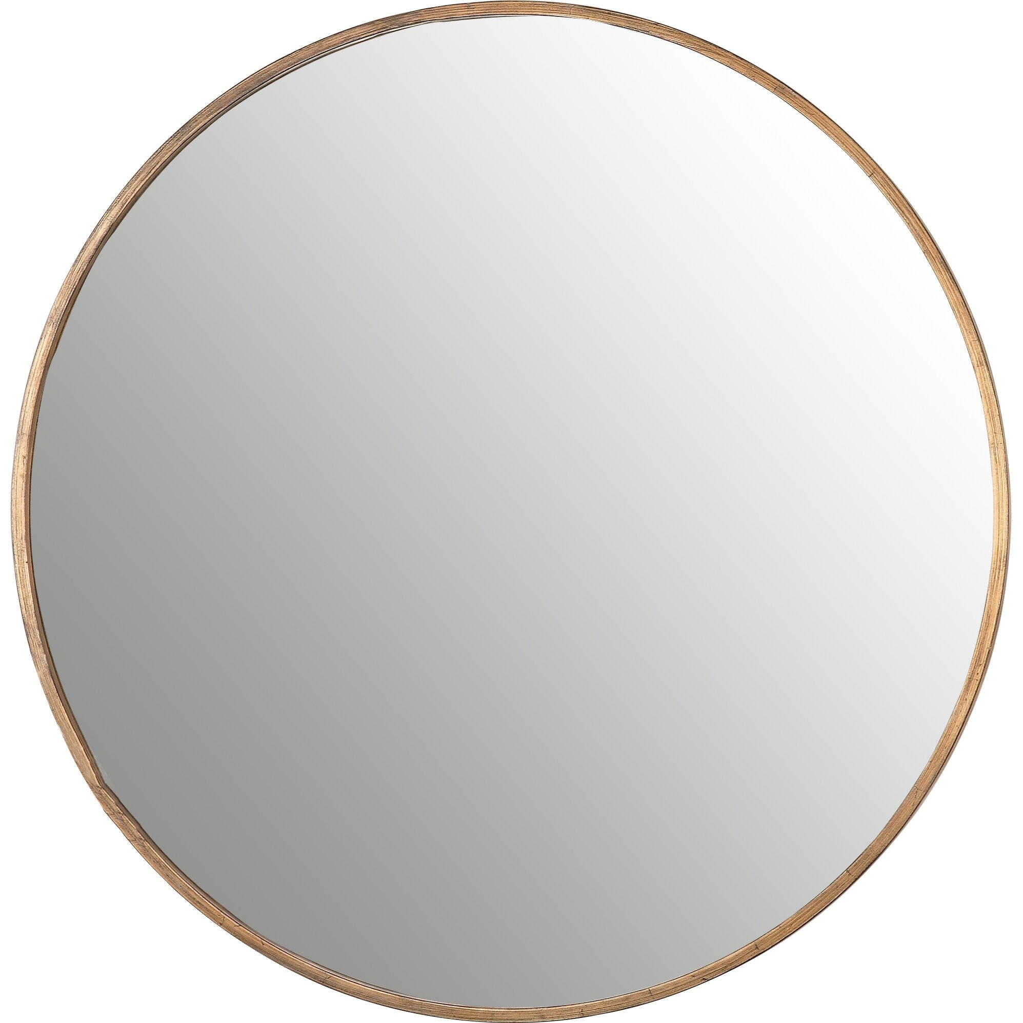 Bronwyn round mirror by corrigan studio