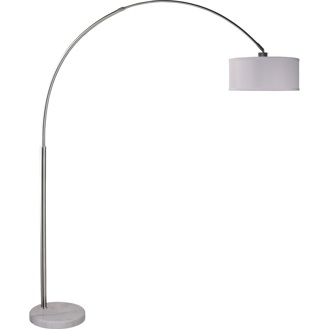 Maui 81 Quot Arched Floor Lamp Wayfair