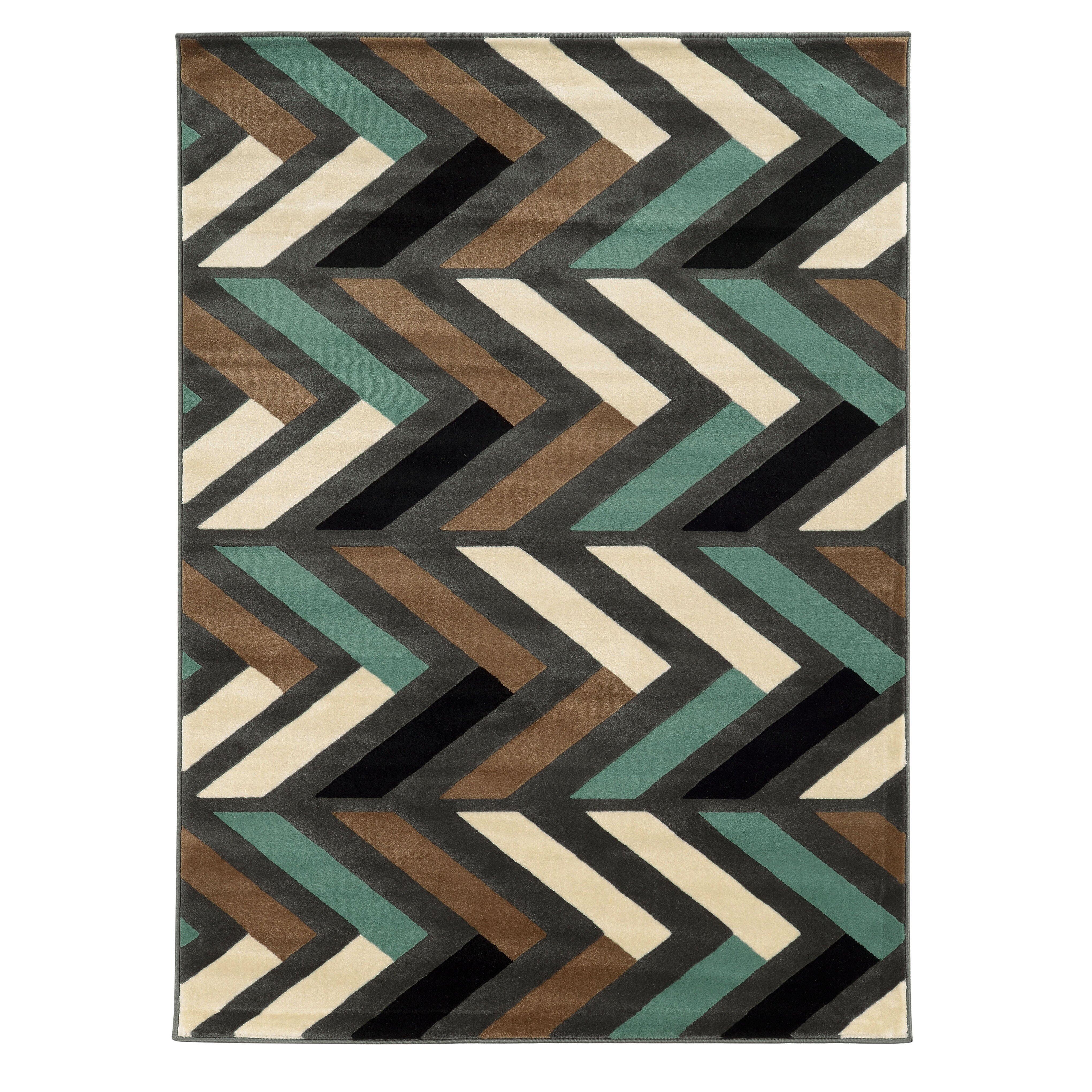 halvard gray turquoise area rug wayfair. Black Bedroom Furniture Sets. Home Design Ideas