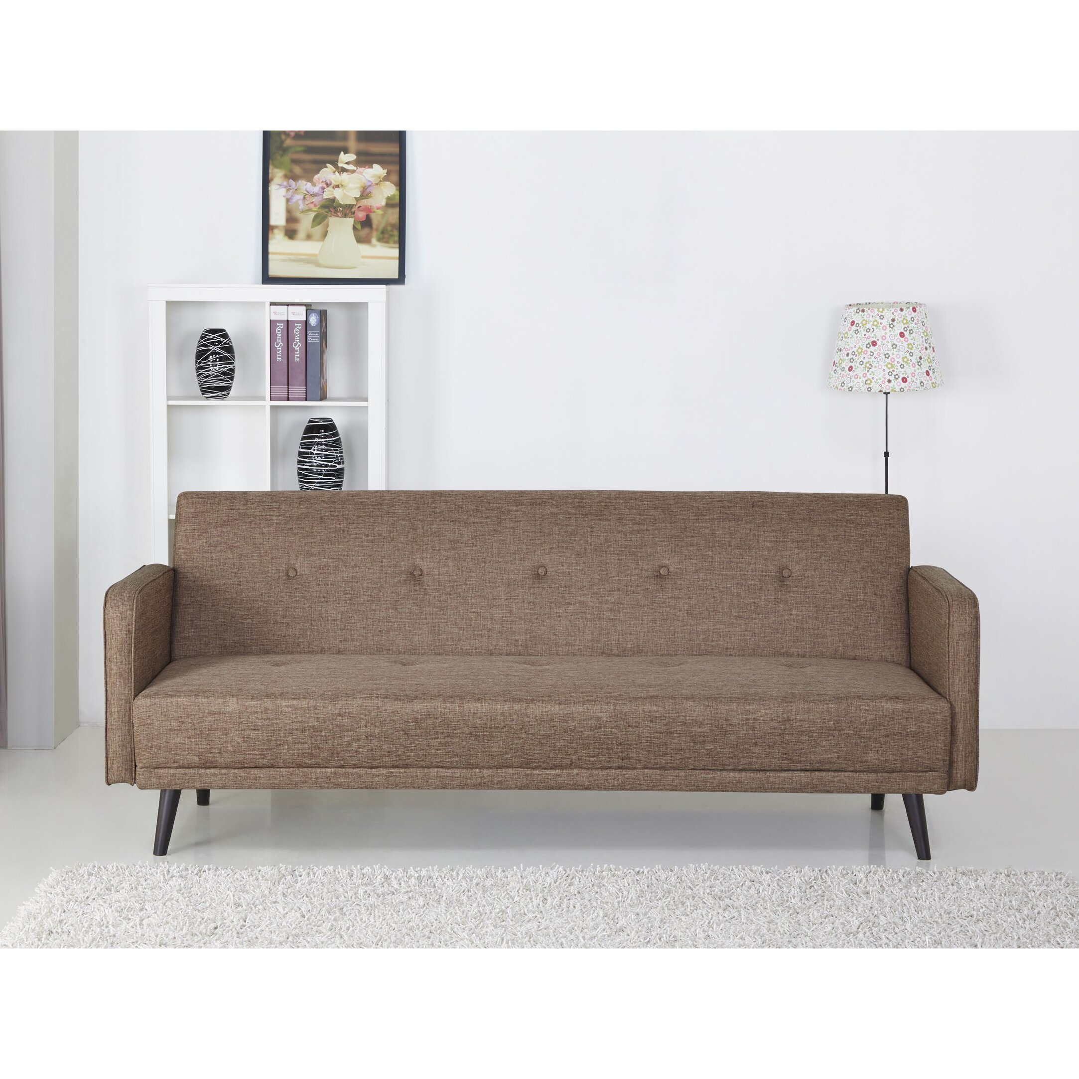 Langley street zelmo sleeper sofa reviews wayfair for Outdoor furniture langley