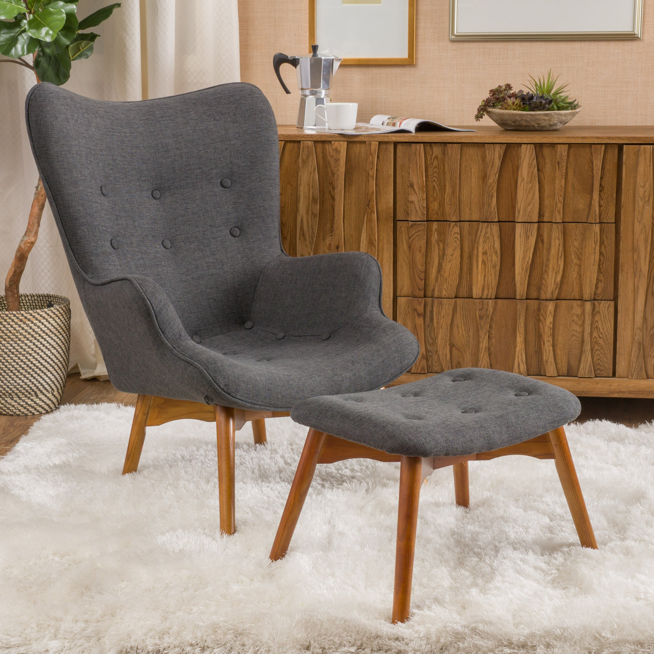 ^ Mid-entury Modern Inspired Finds from Wayfair Dans le Lakehouse