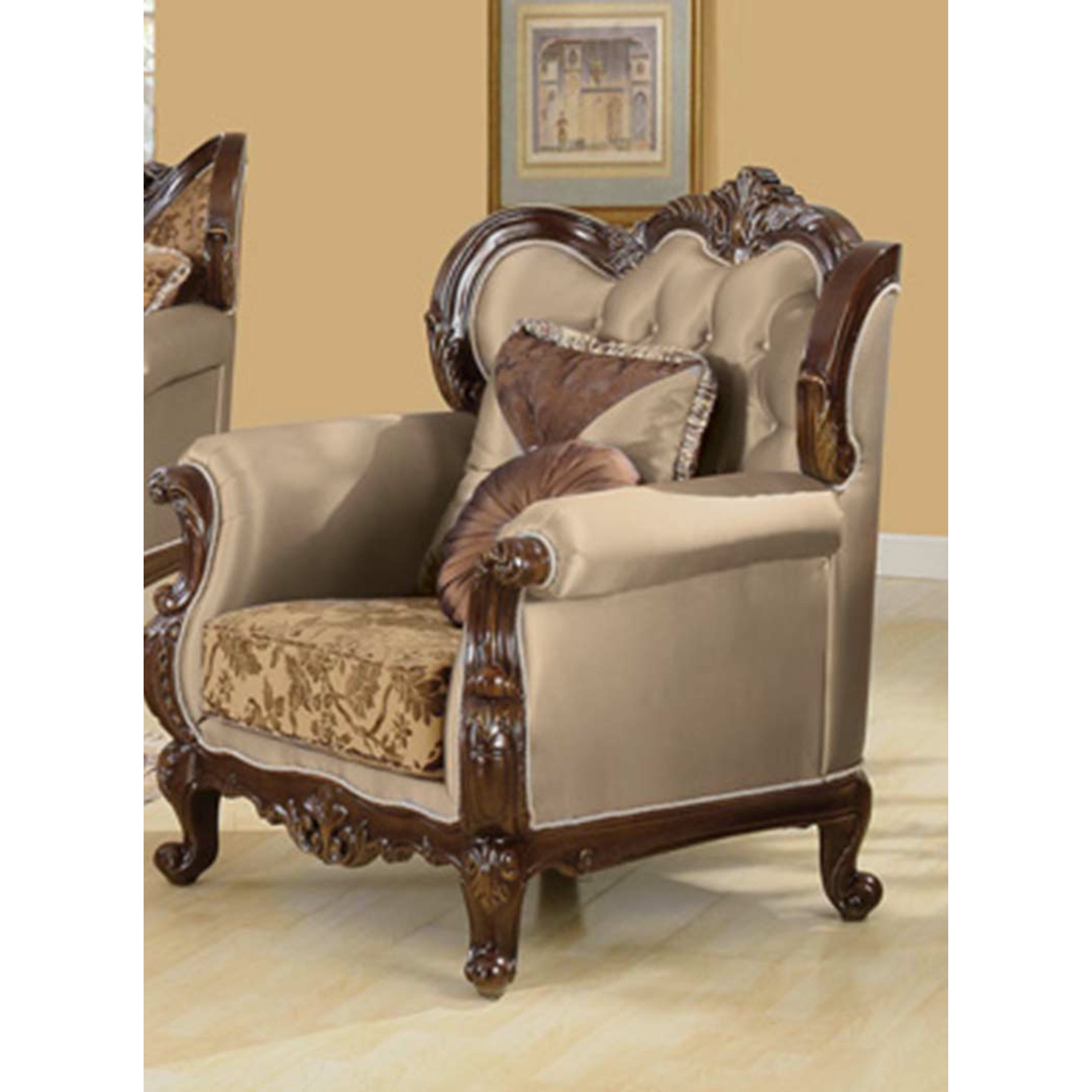 Traditional Living Room Furniture Sets: BestMasterFurniture Jenna 3 Piece Traditional Living Room