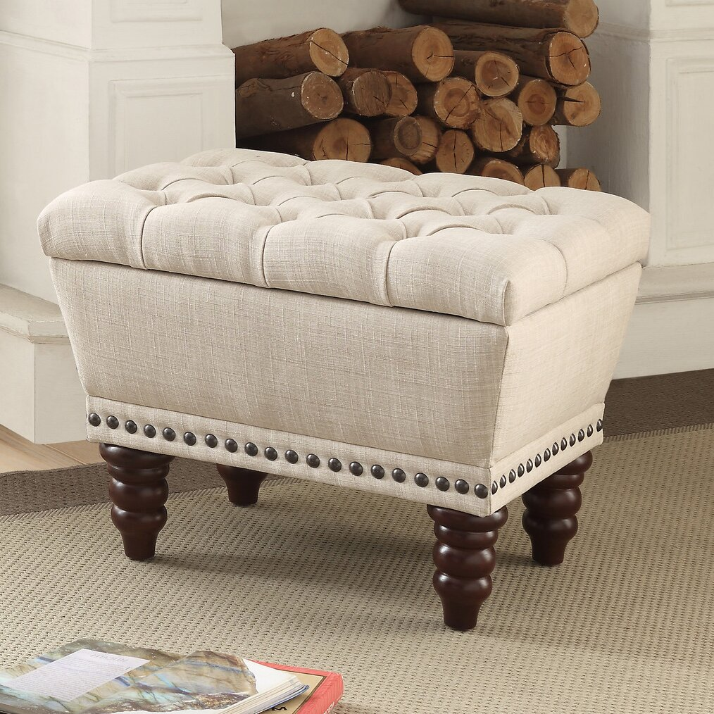 Varian Upholstered Storage Bedroom Bench Reviews: !nspire Upholstered Storage Bench & Reviews