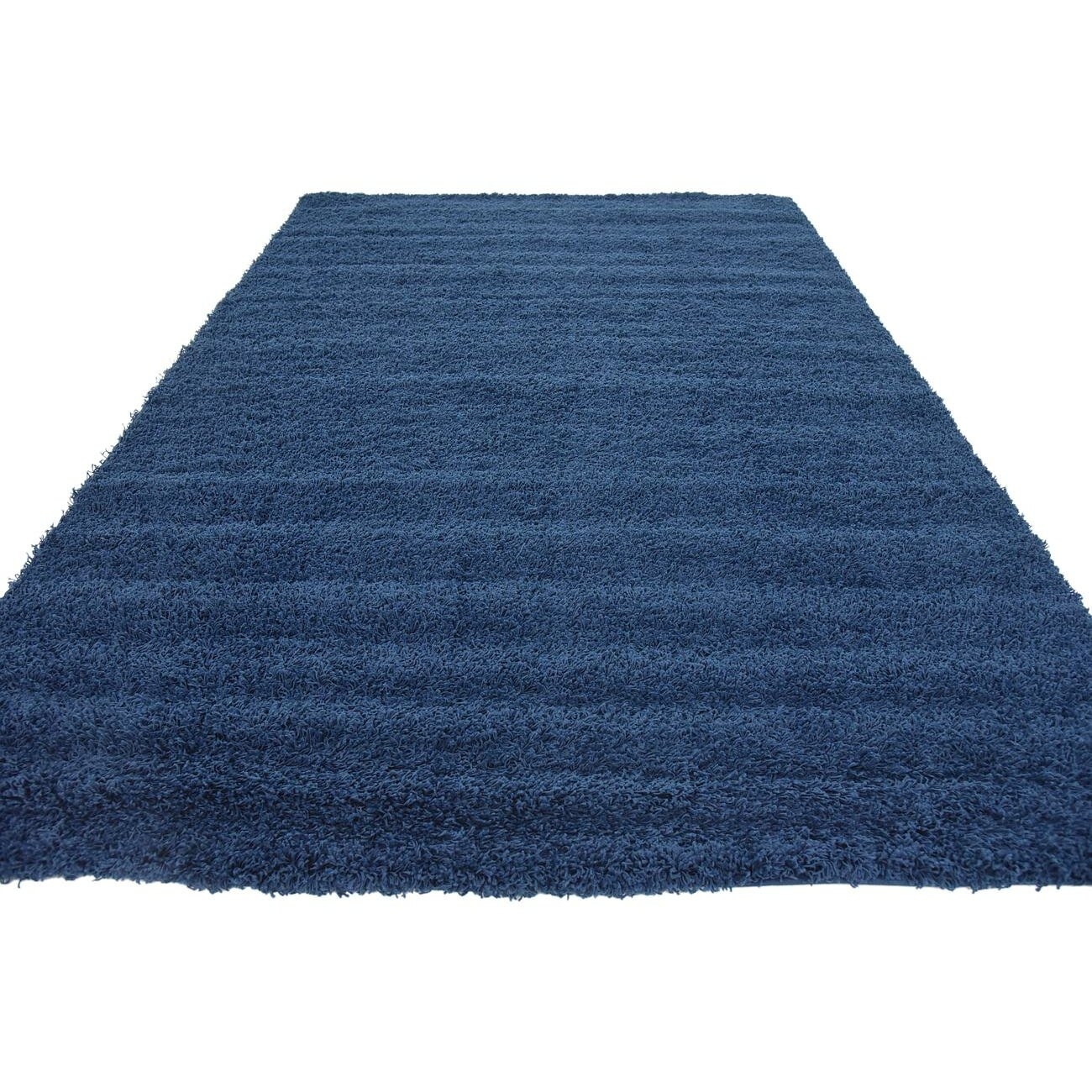 Basic Navy Blue Area Rug